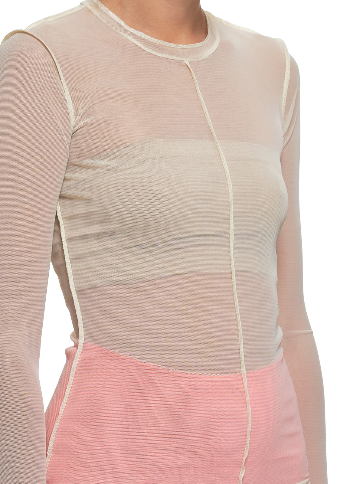 Mesh Top (#001041-#003-IVORY)