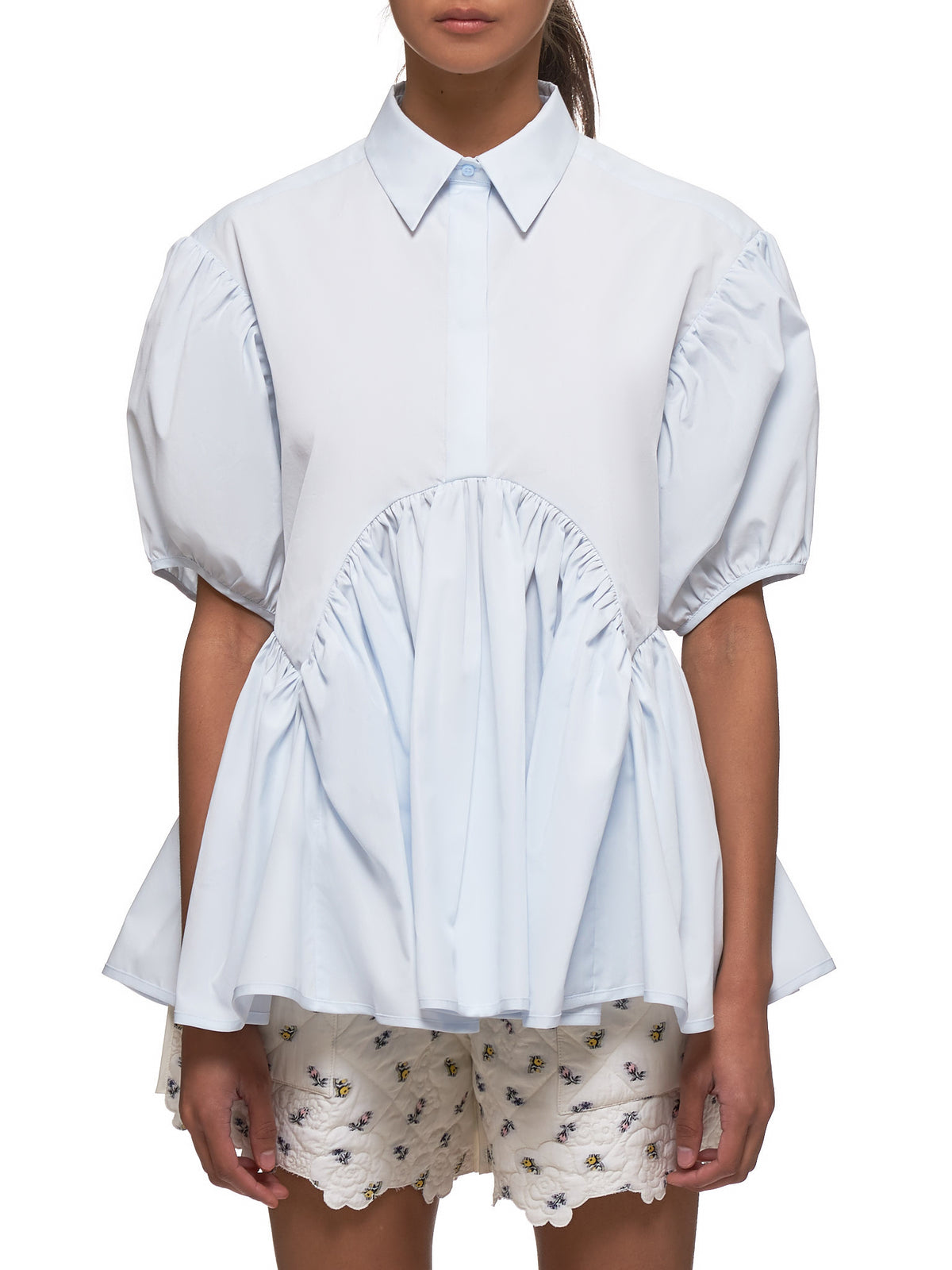 Ellie Blouse (0018-ELLIE-LIGHT-BLUE)