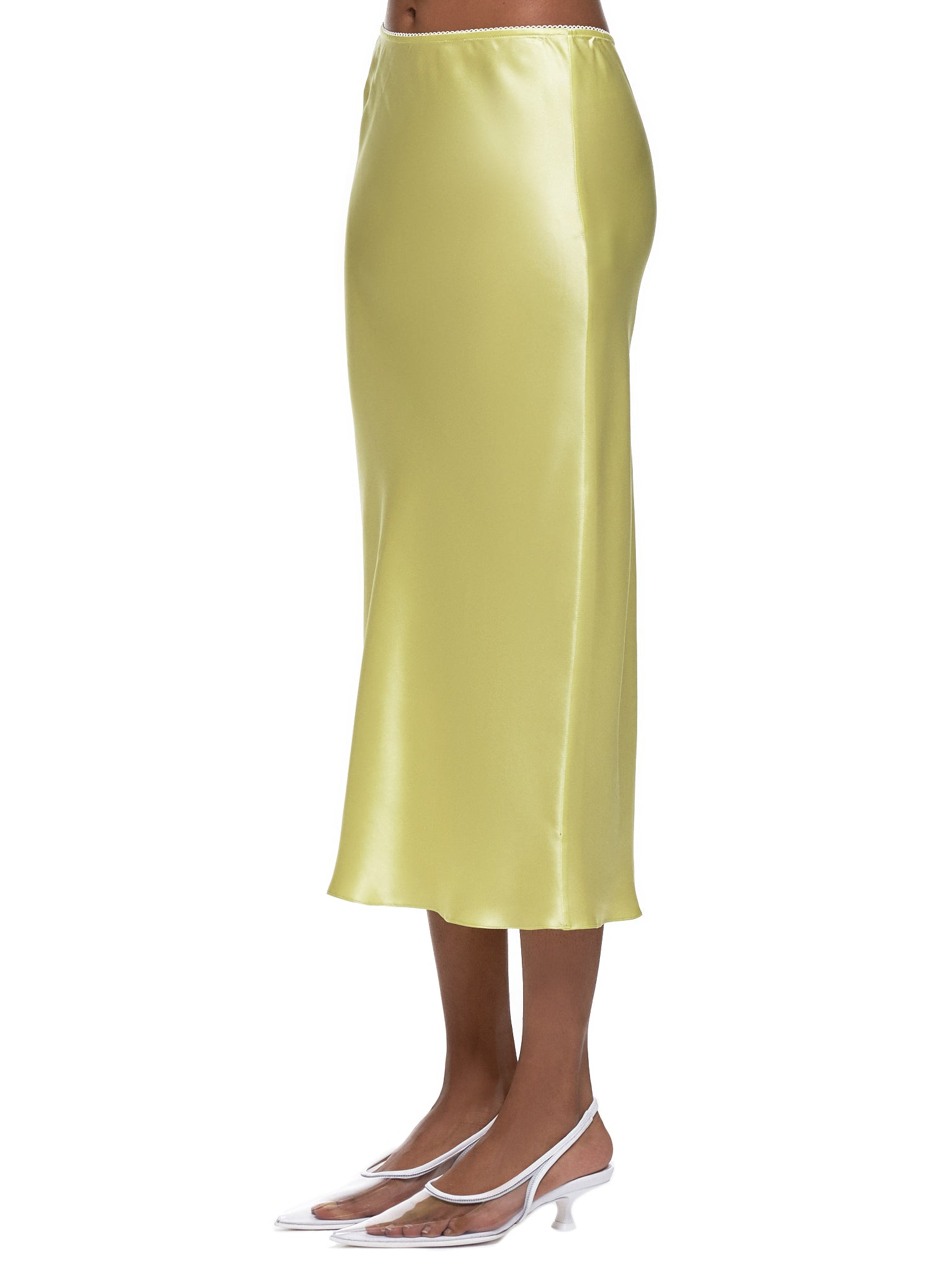 Honey Slip Skirt (002015-005-HONEYDEW)