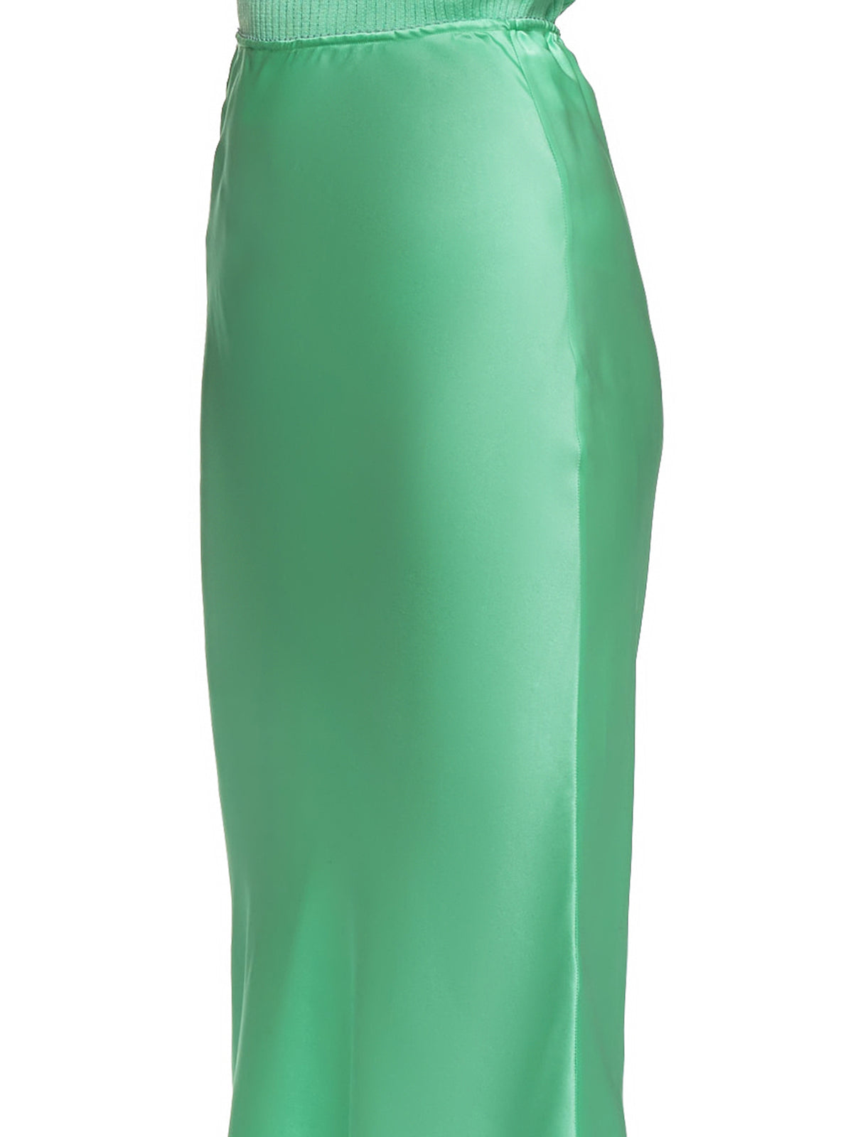 Satin Skirt (#002015-#005-MINT)
