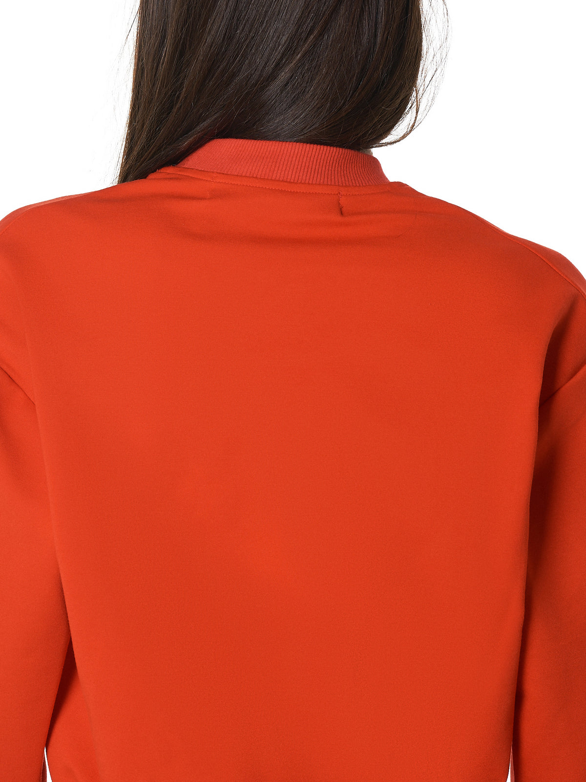 Cropped Pullover (004-RED-FLEECE-PONTE)
