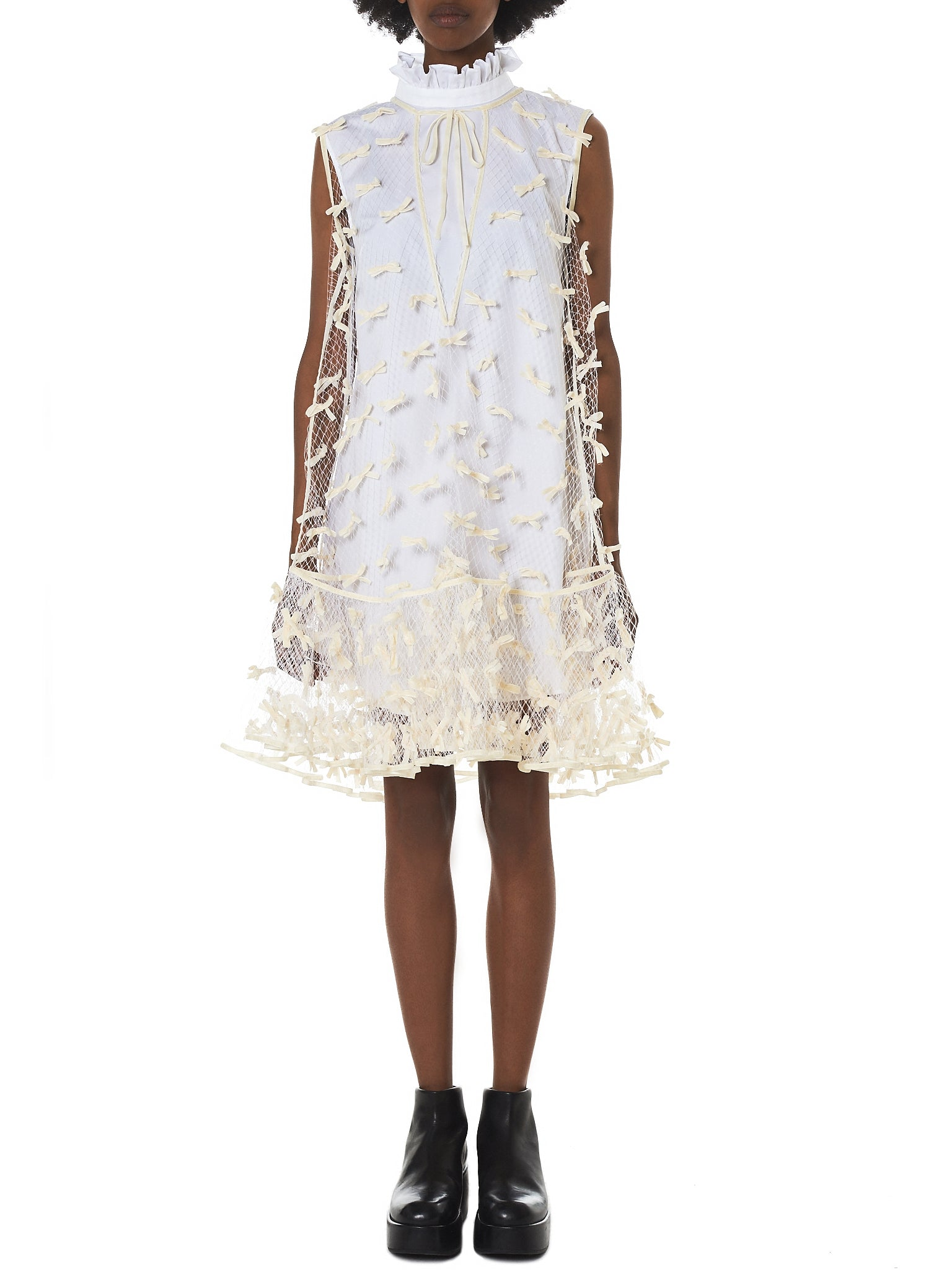 Cecilie Bahnsen Tulle Dress - Hlorenzo Front