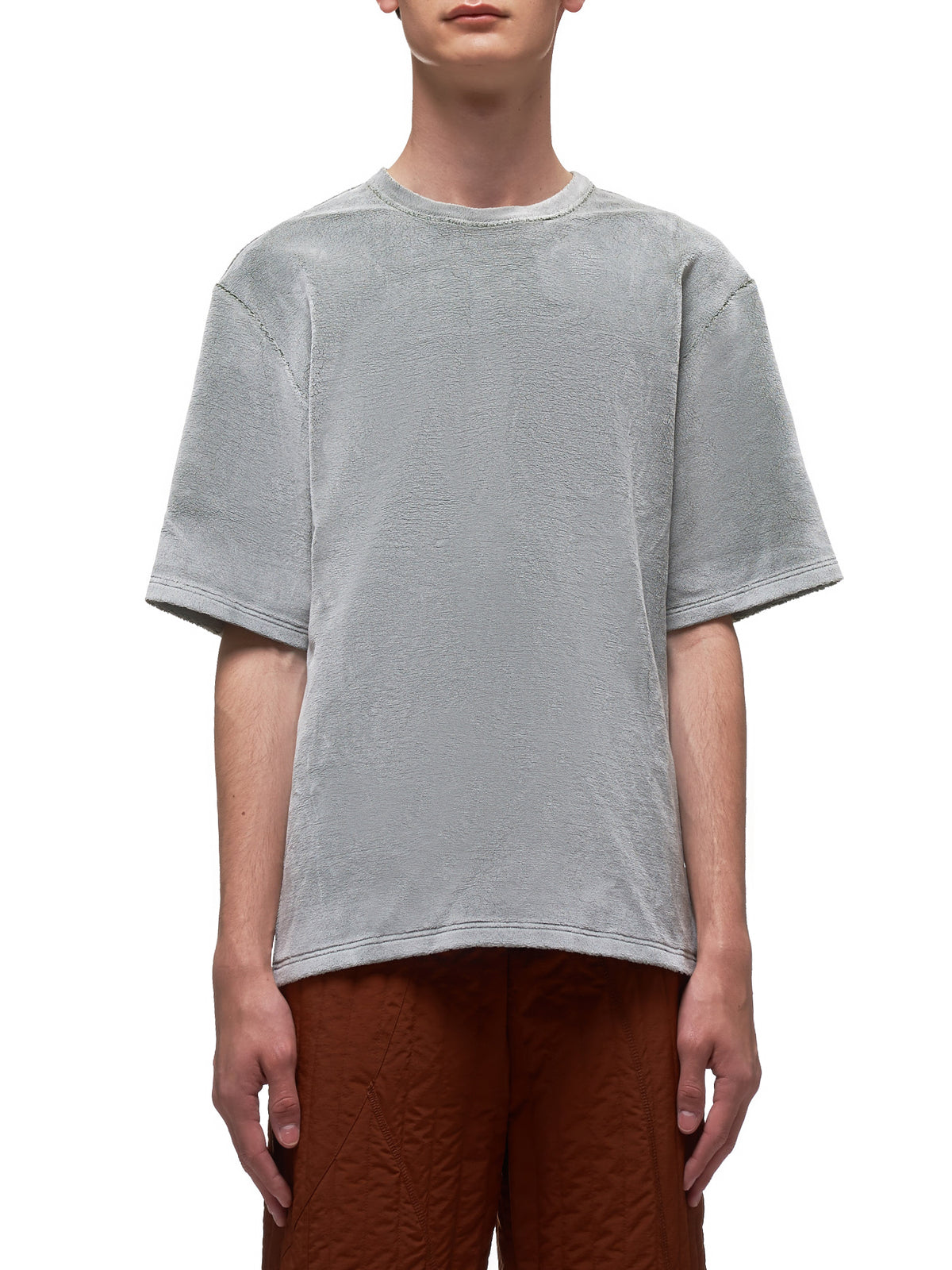 Synthetic Mink T-Shirt (005-09-LIGHT-SILVER-GREEN)
