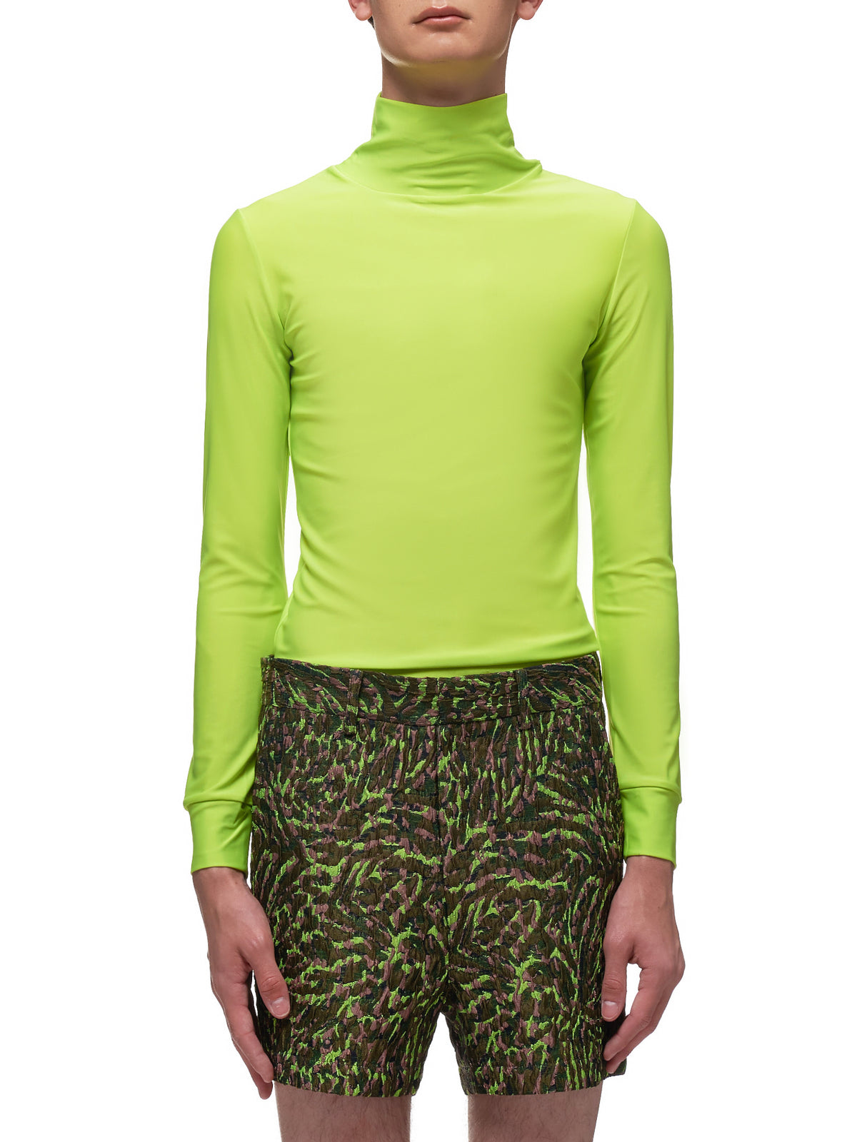 Highlighter Turtleneck (006-06-SUNNY-LIGHT-GREEN)