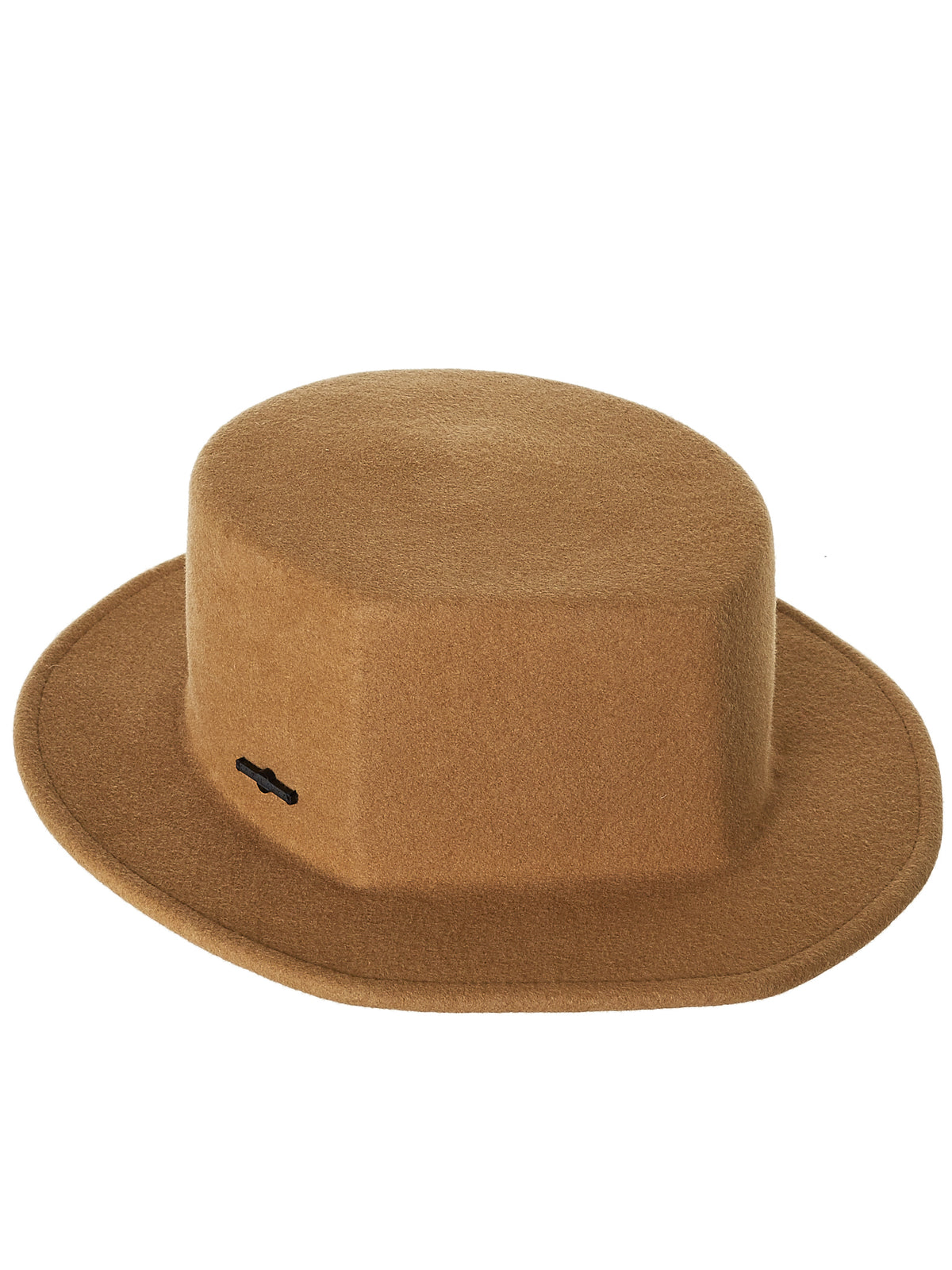 Flat Crown Hat (006-CAMEL)