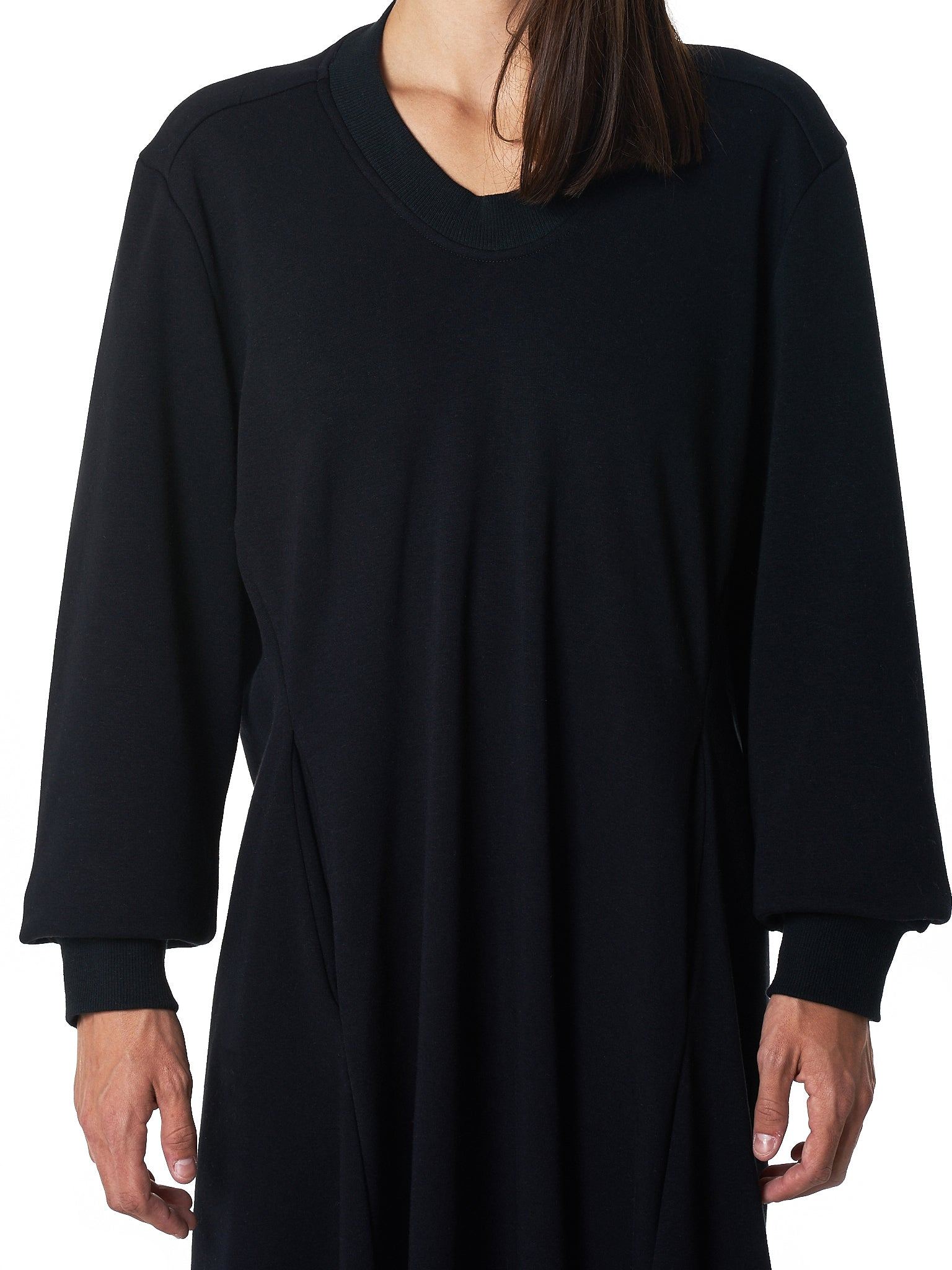 Pullover Dress (008-BLACK-TERRY)