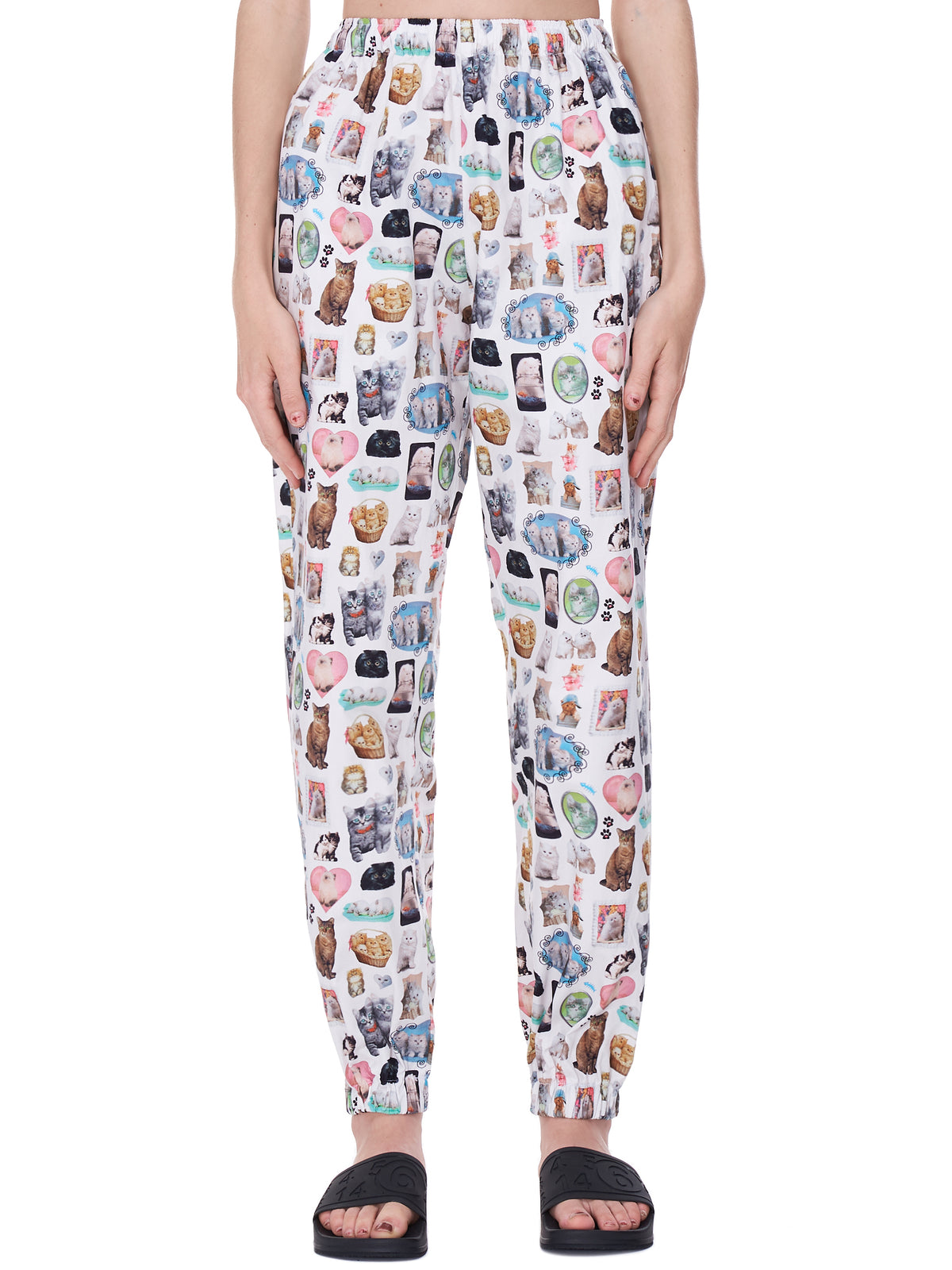 Cat Print Lounge Trousers (008-CATS)