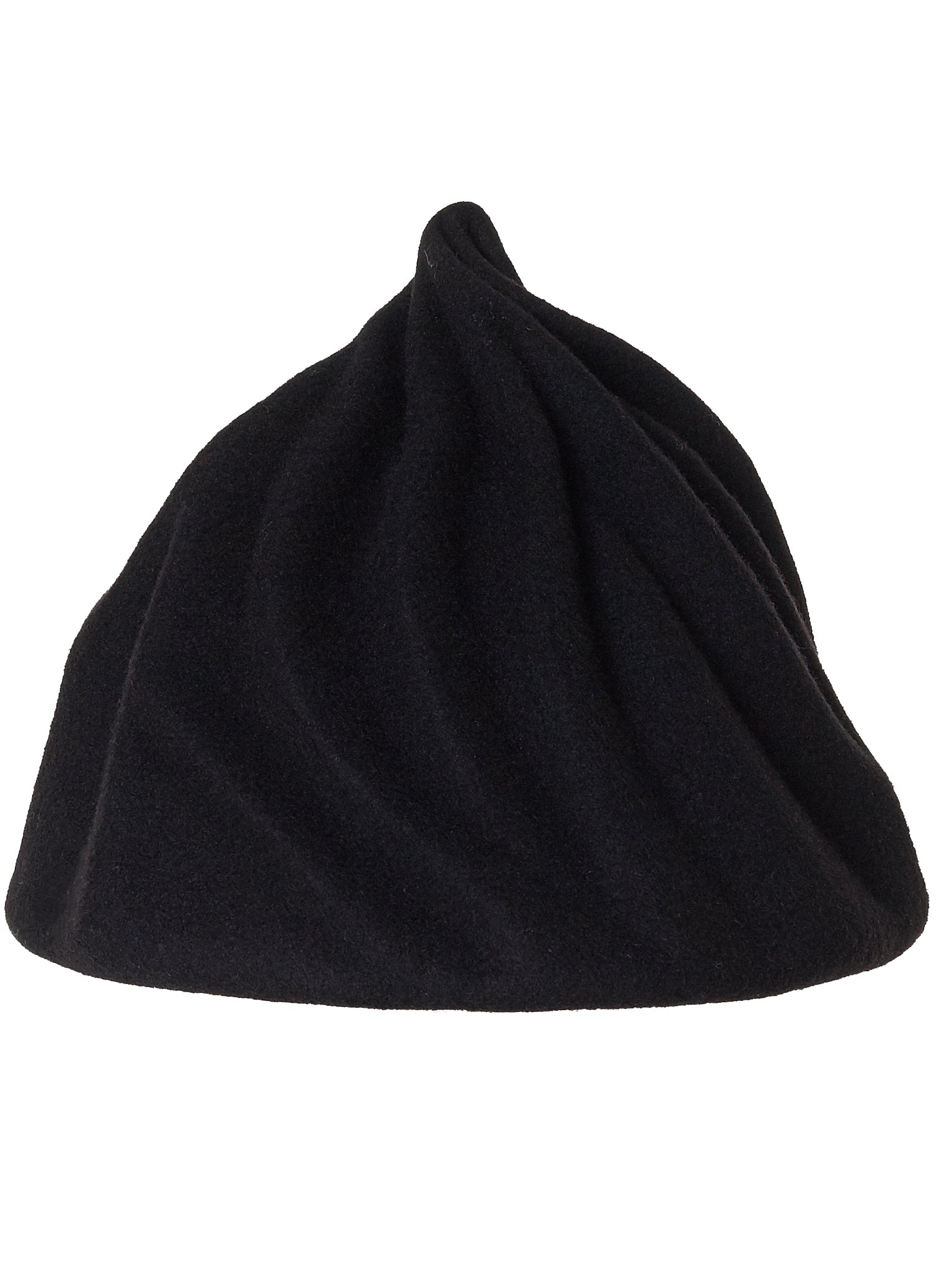 'Icicle' Twisted Crown Cap (009-BLACK)