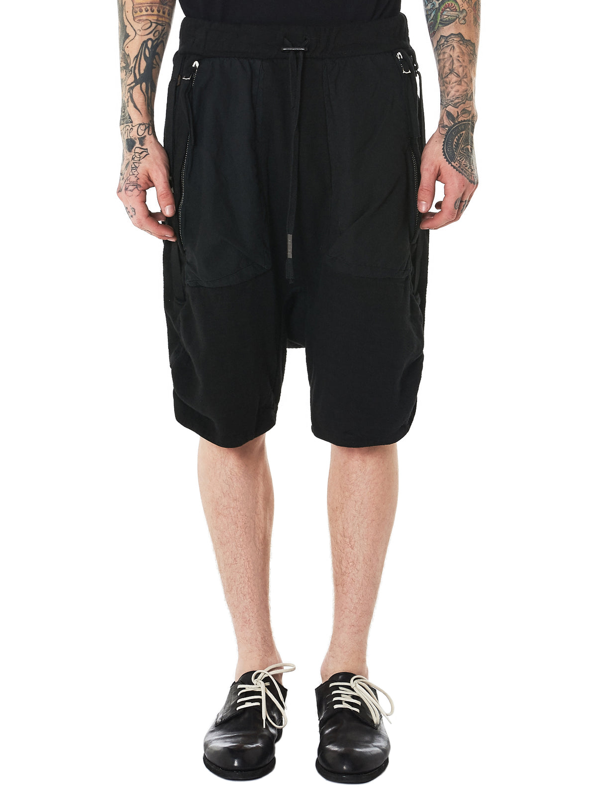 P8 Object Dyed Shorts (P8-F0603M-BLACK)