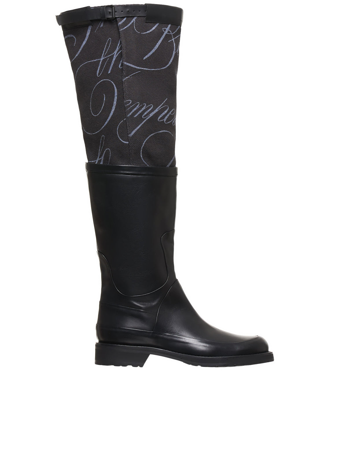 Double Layer Boots (2001-4204-390-098-BLACK)