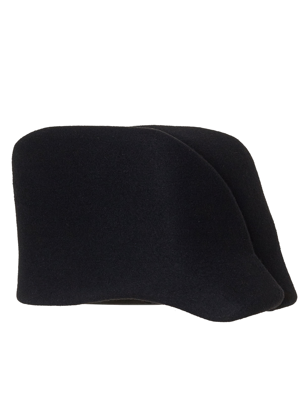 'Warped' Crown Cap (015-BLACK)