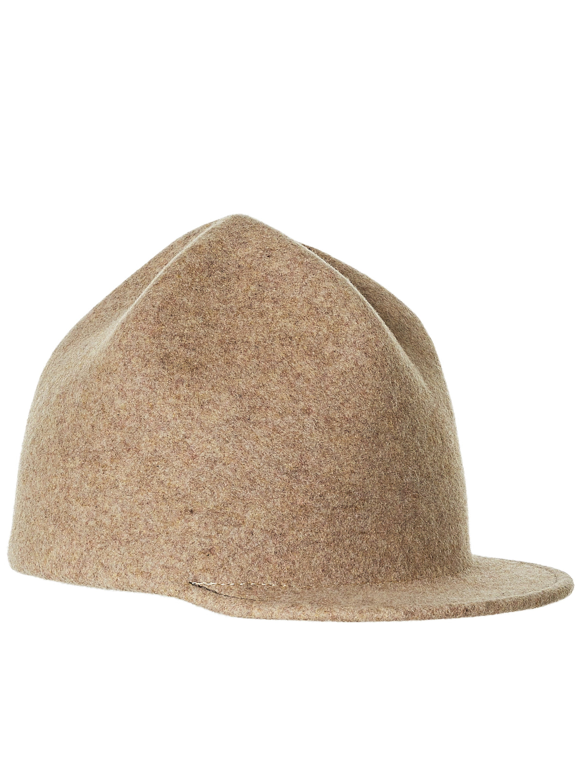 Crumpled Crown Cap (018-MIX-BEIGE)