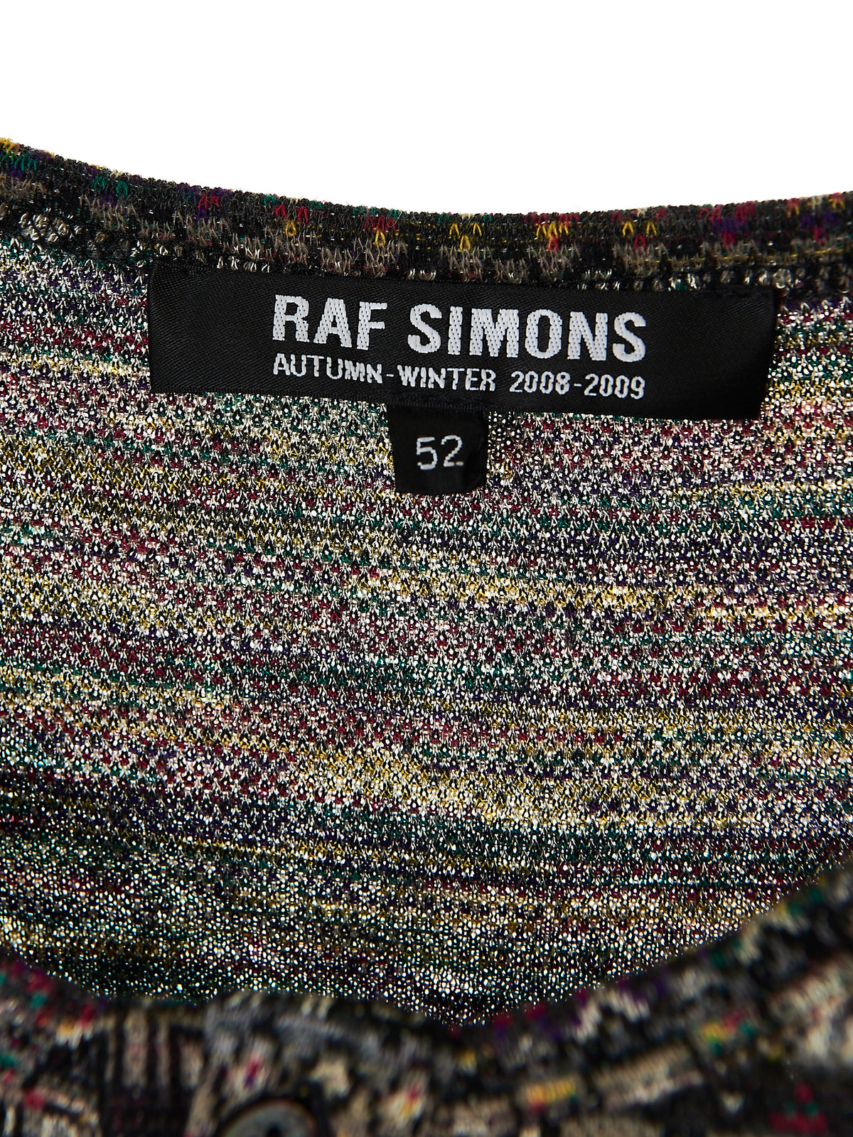 Raf Simons Patterned Henley Sweater (RS148J-2558-80) - H. Lorenzo
