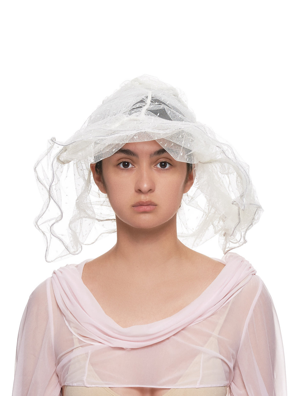 Lace Hat (12H-INDIA-IVORY)