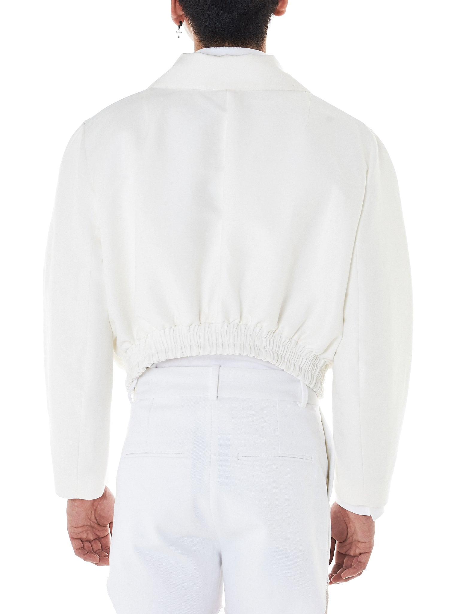 Namacheko Cropped Jacket - Hlorenzo Back