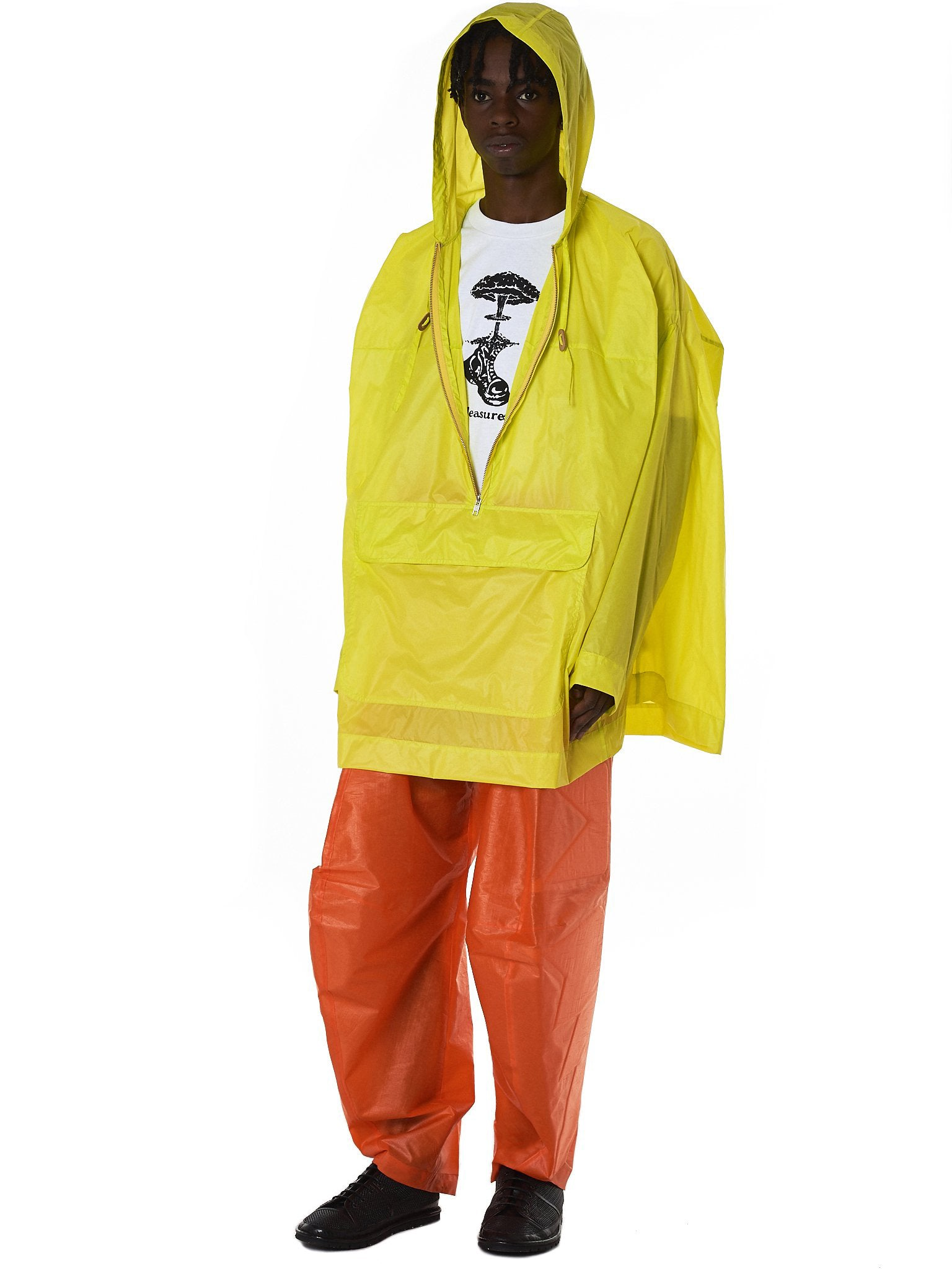 Cubic K-Way Jacket (3005-CUBIC-K-WAY-YELLOW)