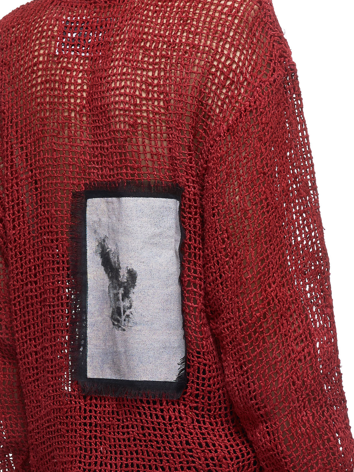 Fire Starter Rope Sweater (037-FIRESTARTER-RED)
