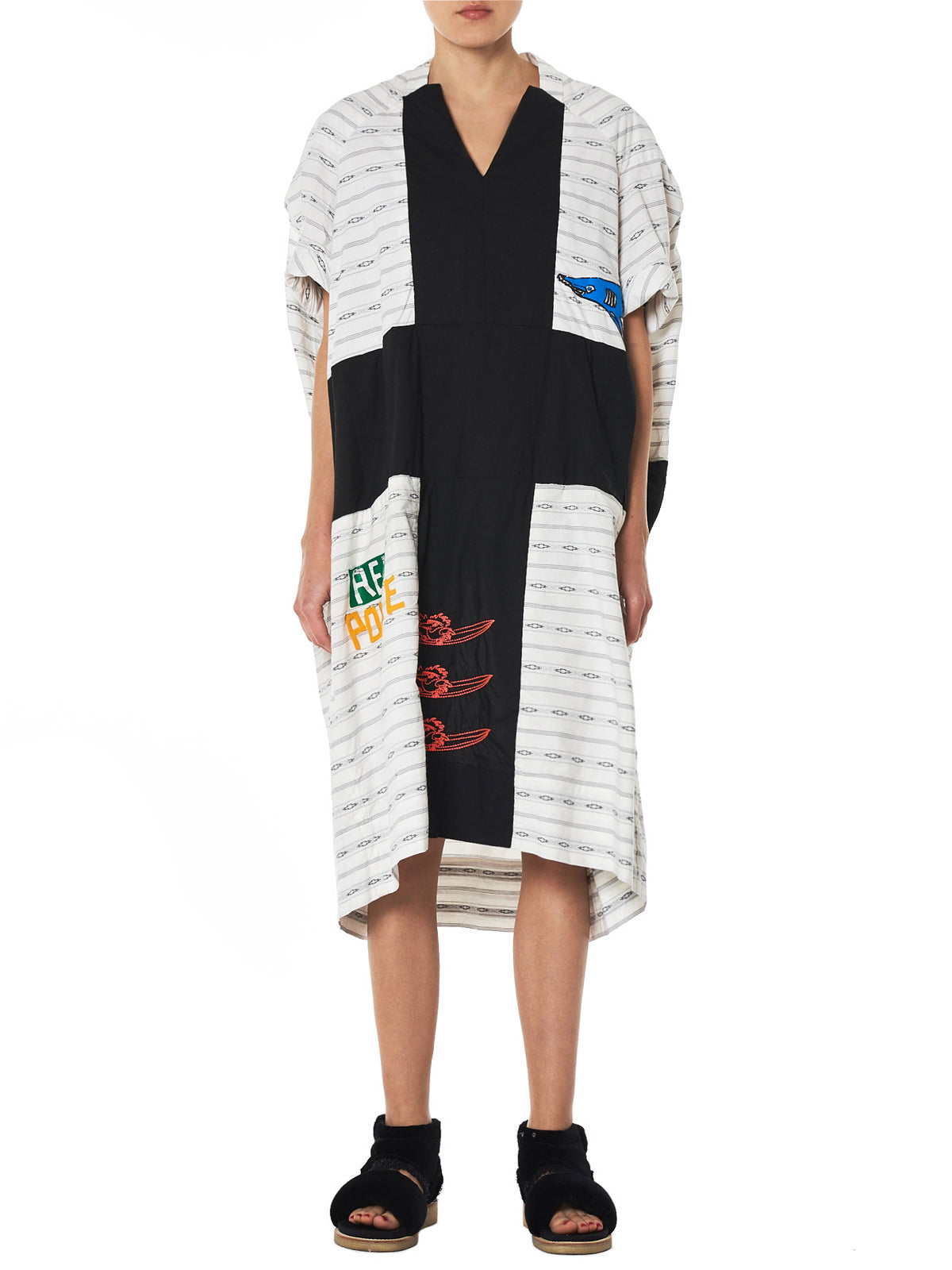 Bernhard Willhelm Graphic Dress - Hlorenzo Front