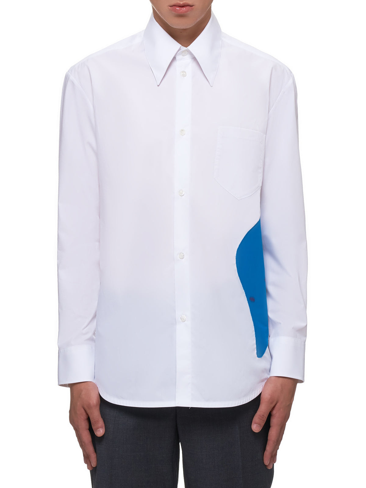 Long Sleeve Shirt (0404-N1004-WHITE)