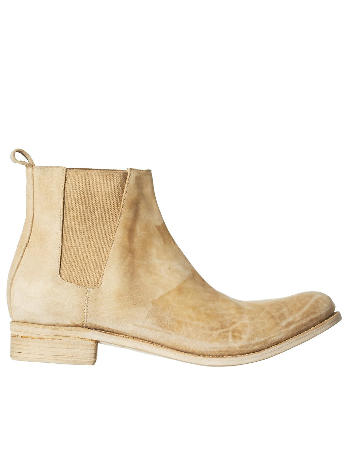 Cordovan Chelsea Boot (042-CORDOVAN-LIGHT-BEIGE)