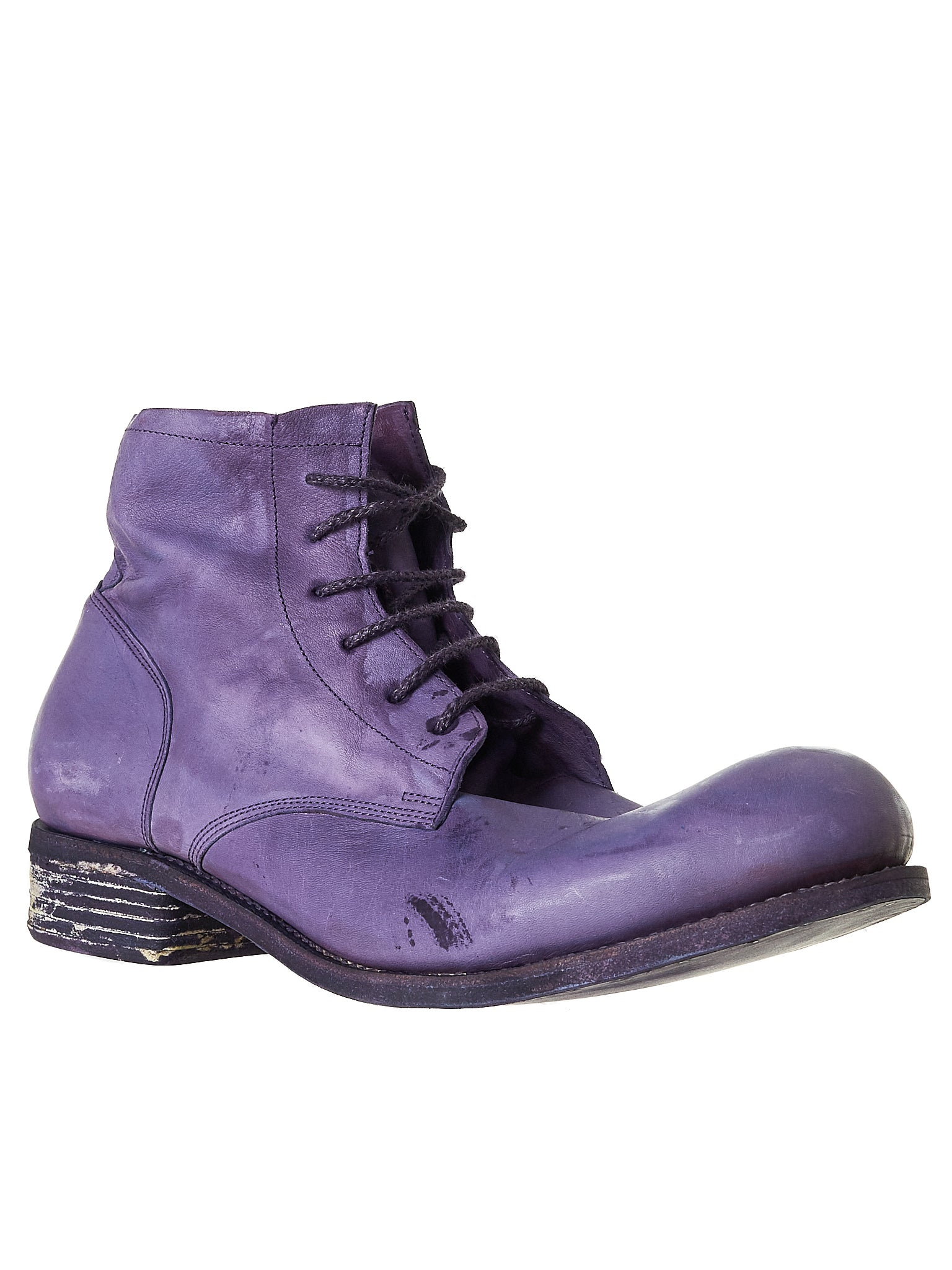 A Diciannoveventitre Kangaroo Leather Boot - Hlorenzo Side