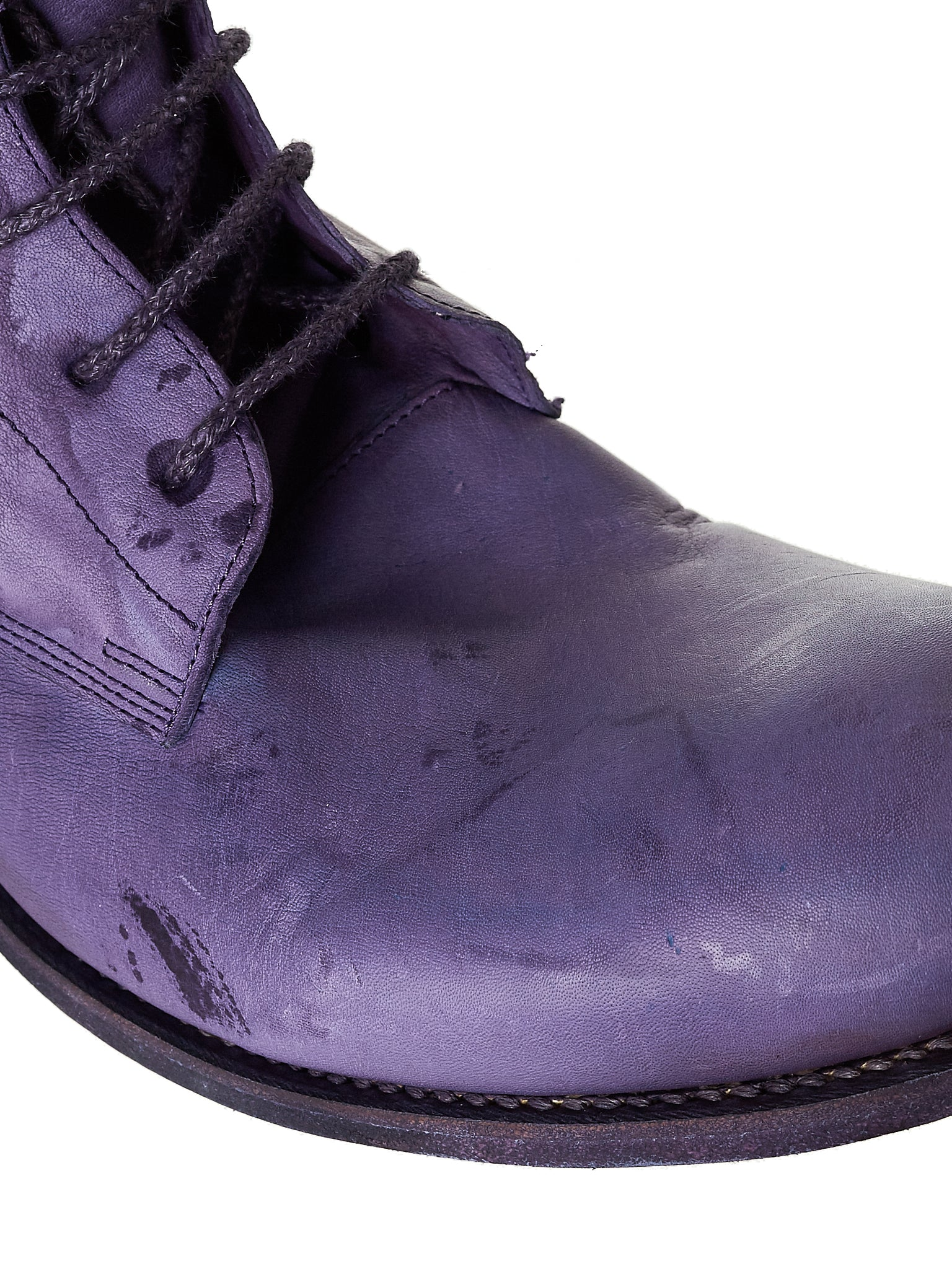 A Diciannoveventitre Kangaroo Leather Boot - Hlorenzo Detail 4