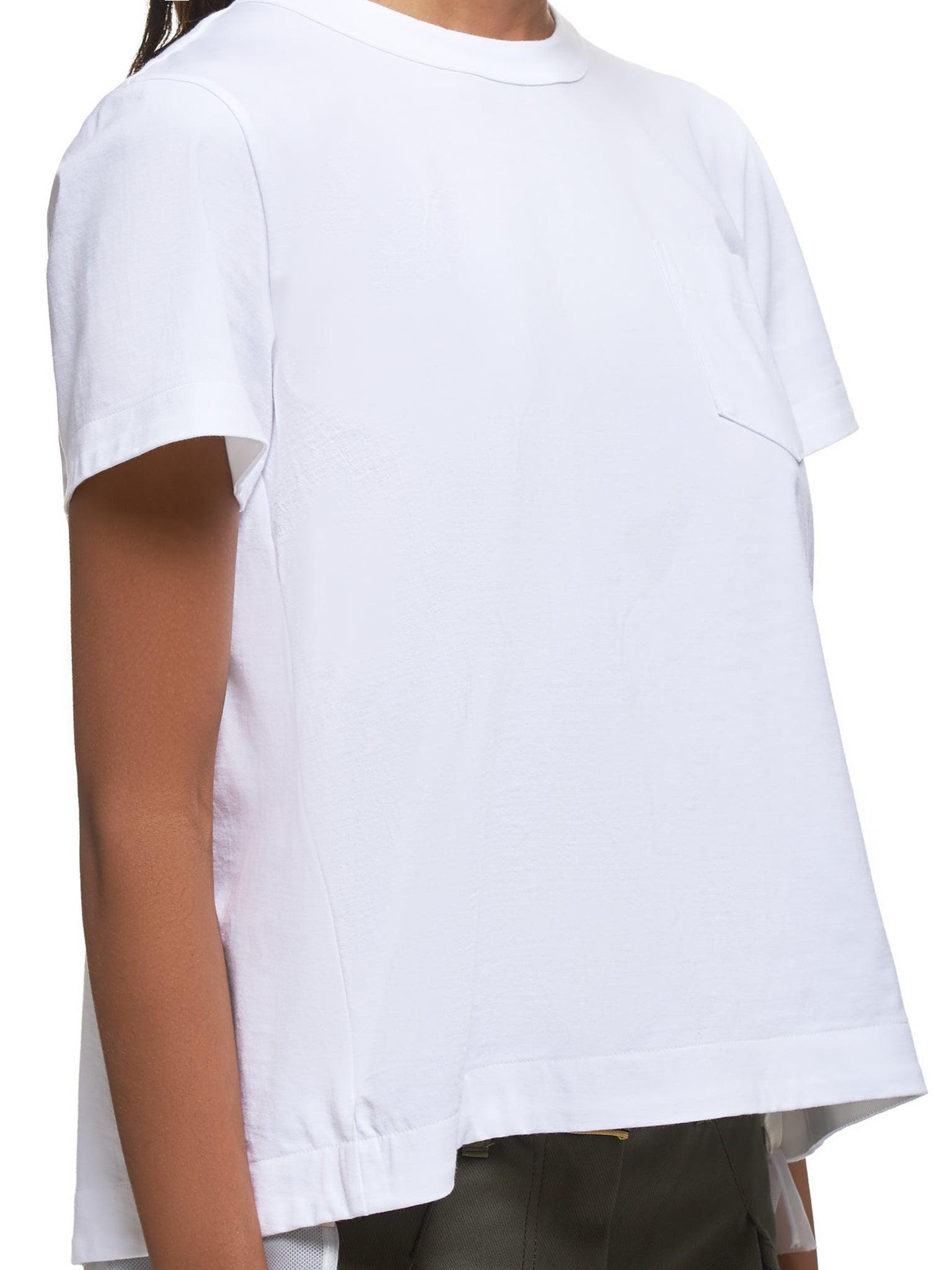 Cut-Out T-Shirt (04881-101-WHITE)