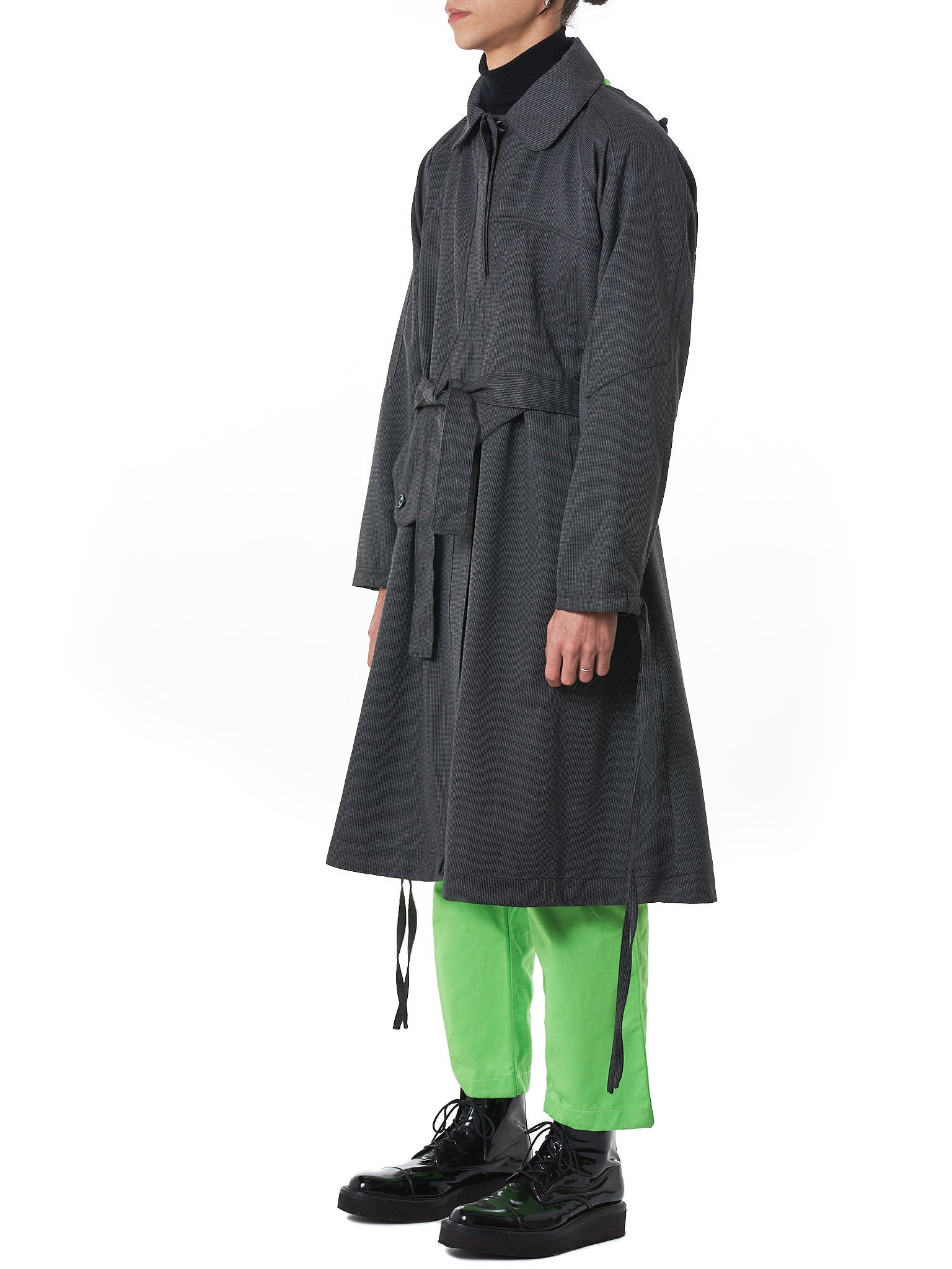 Sanchez-Kane Trench Coat - Hlorenzo Side