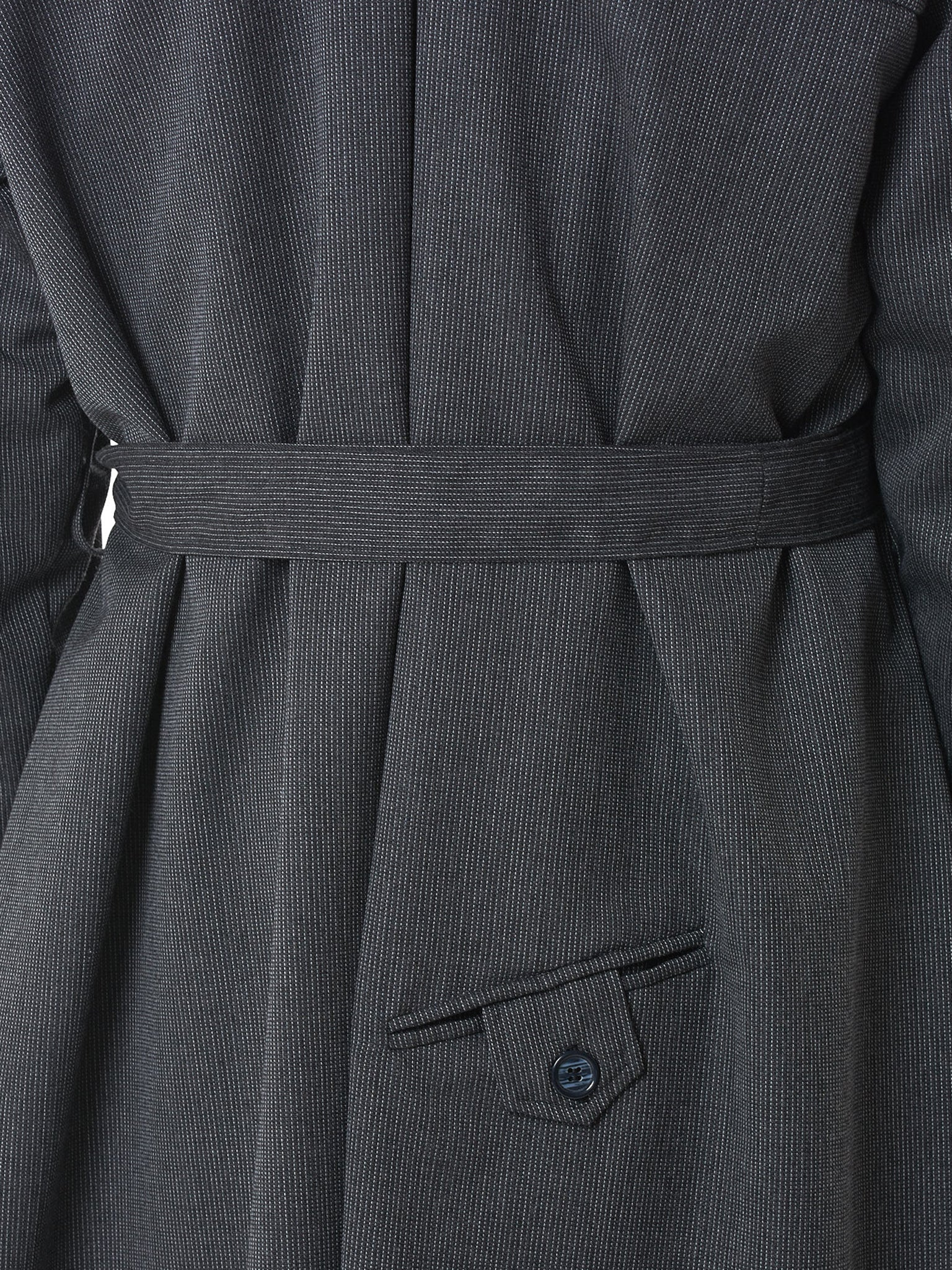 Sanchez-Kane Trench Coat - Hlorenzo Detail 3