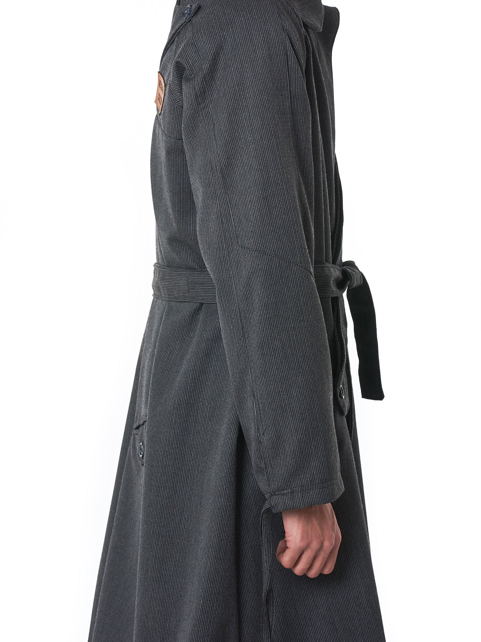 Sanchez-Kane Trench Coat - Hlorenzo Detail 1