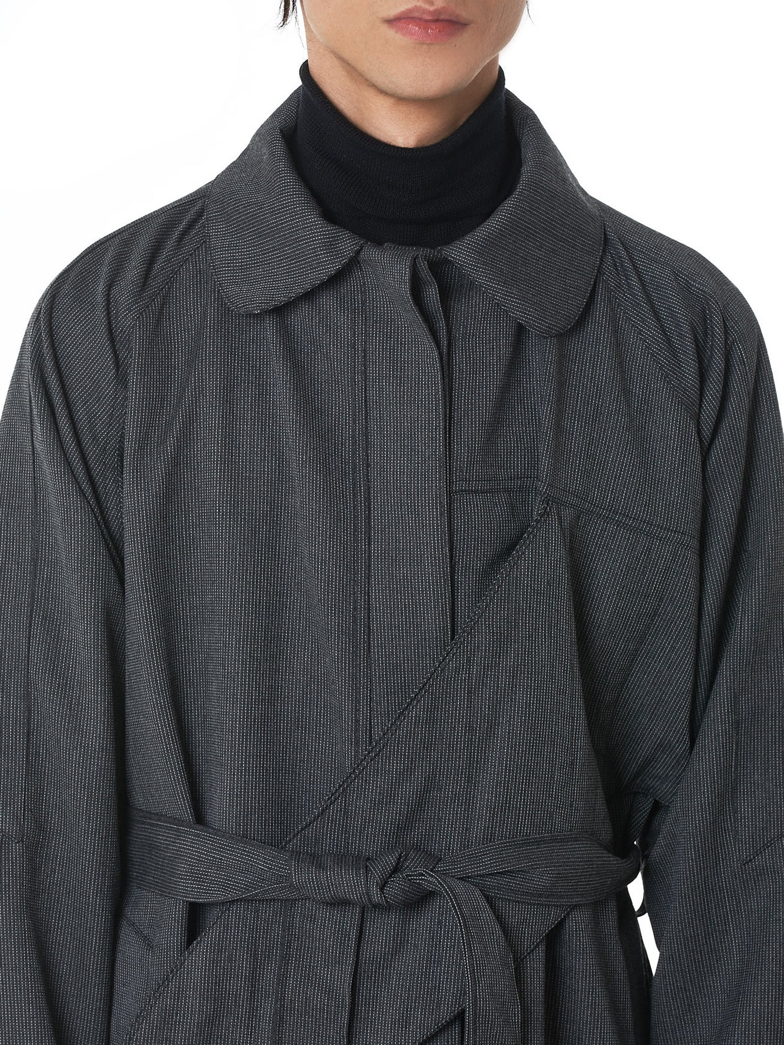 Sanchez-Kane Trench Coat - Hlorenzo Detail 4