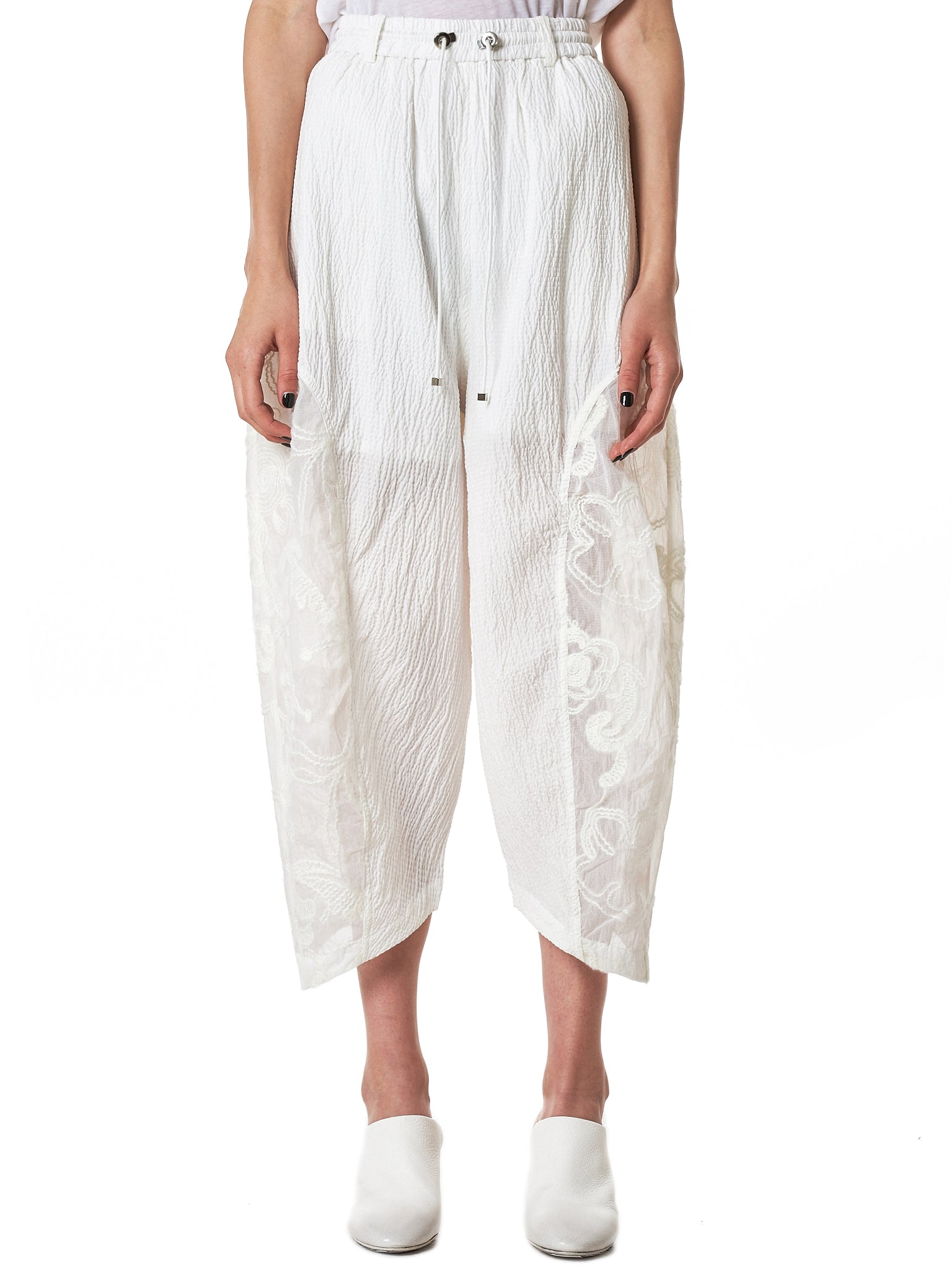Angel Chen Cropped Trouser - Hlorenzo Front