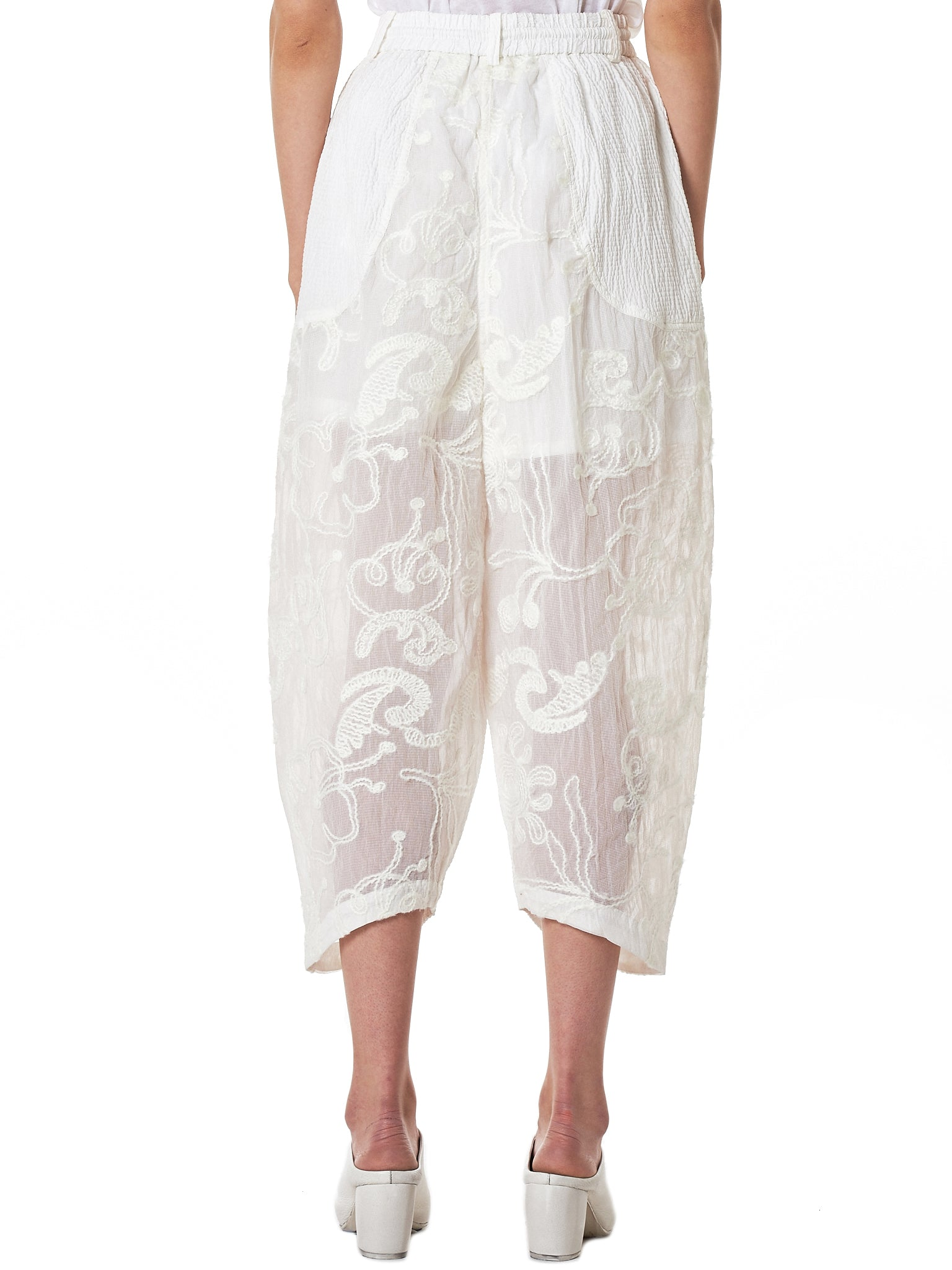 Angel Chen Cropped Trouser - Hlorenzo Back