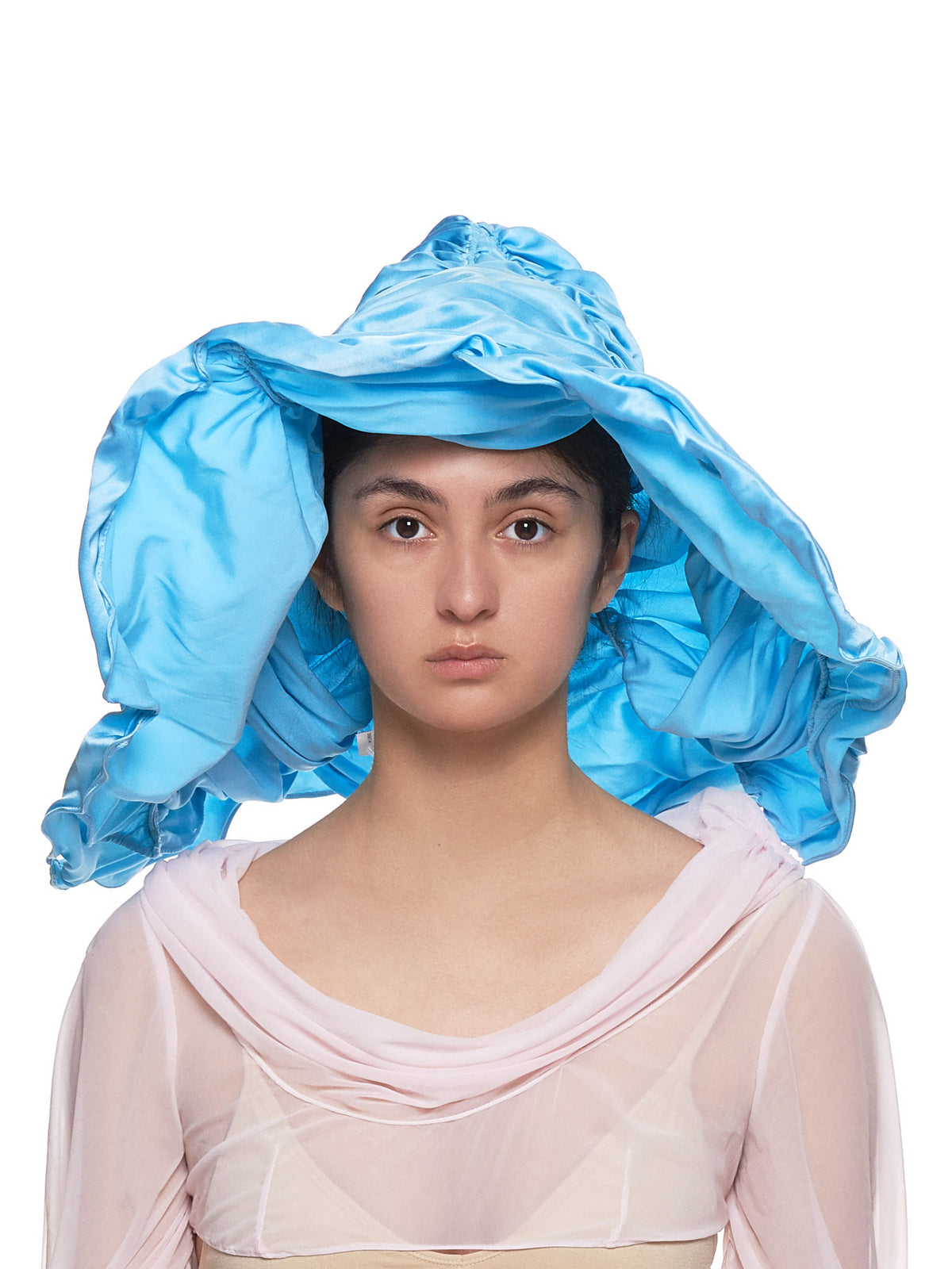 Silk Hat (07H-INDIA-PALE-BLUE)
