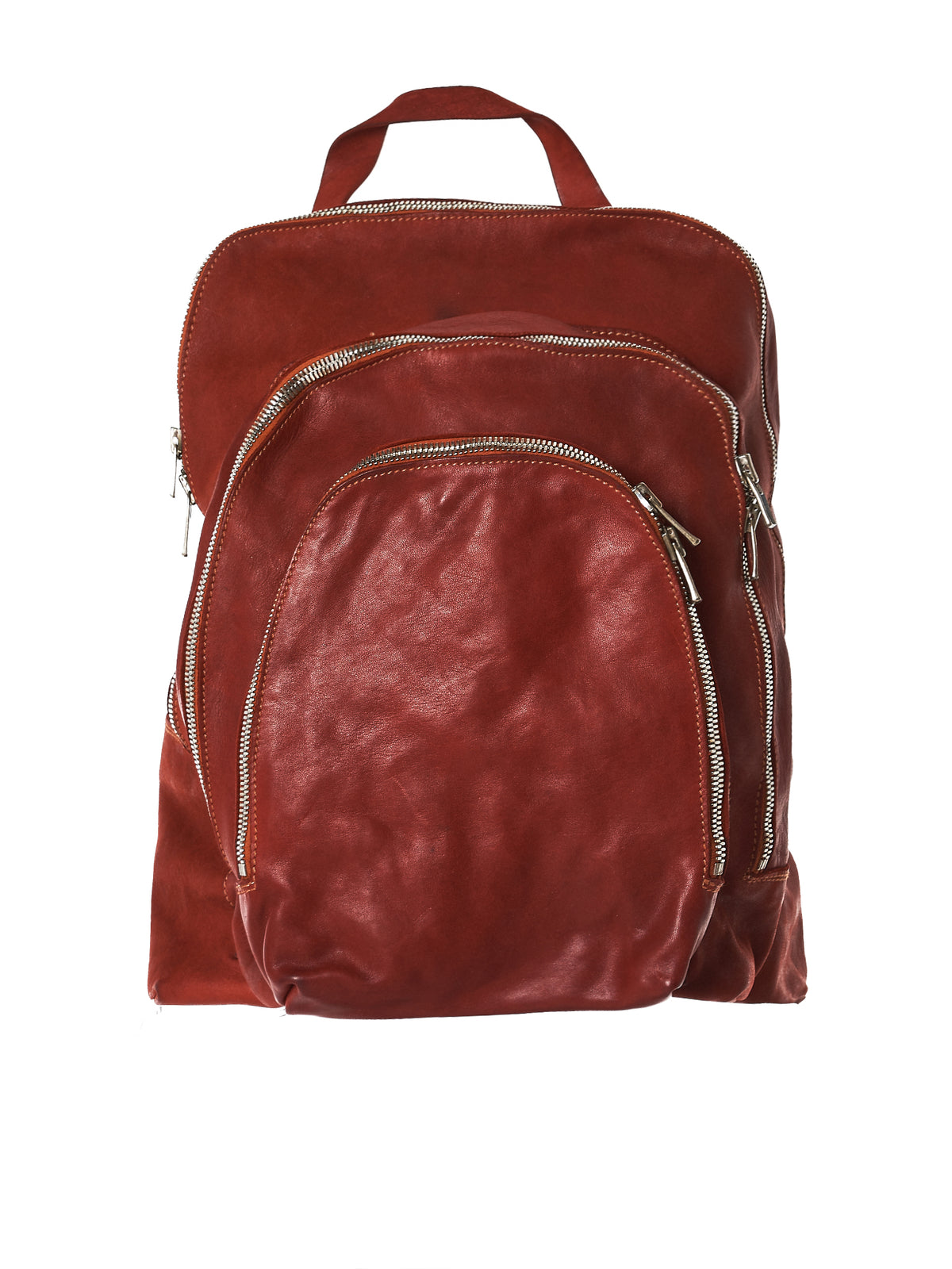 Dyed Leather Backpack (DBP04-SOFT-HORSE-FG-1006T)