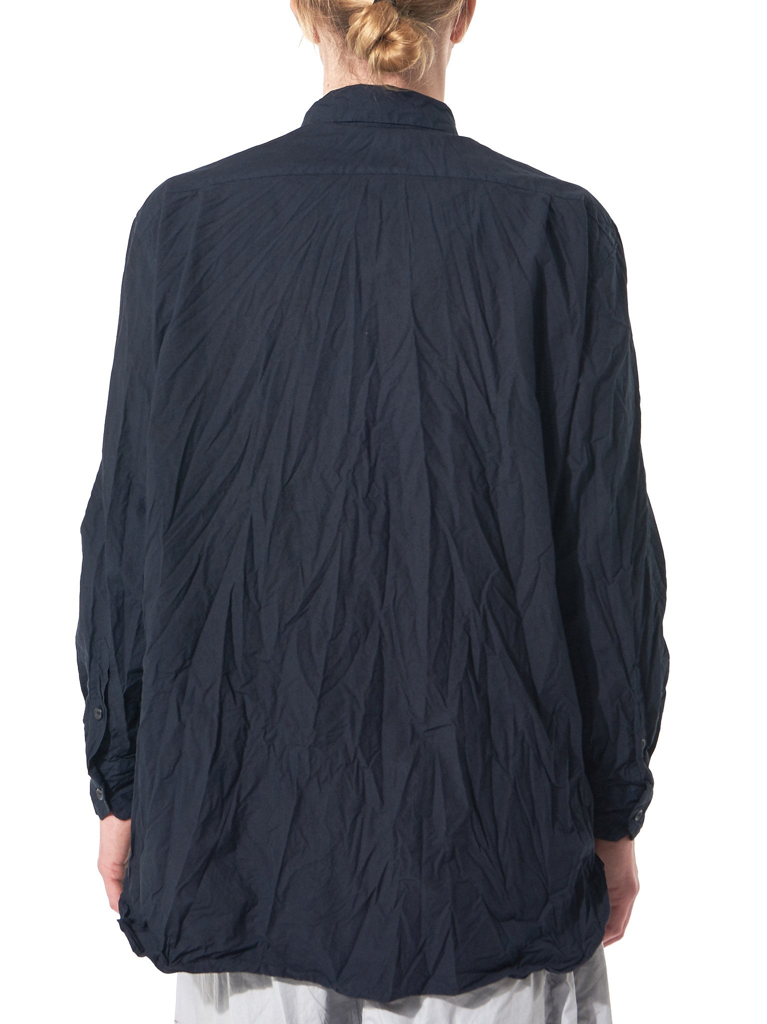Boiled Button-Up (08HC53T PAPER NAVY) - H. Lorenzo