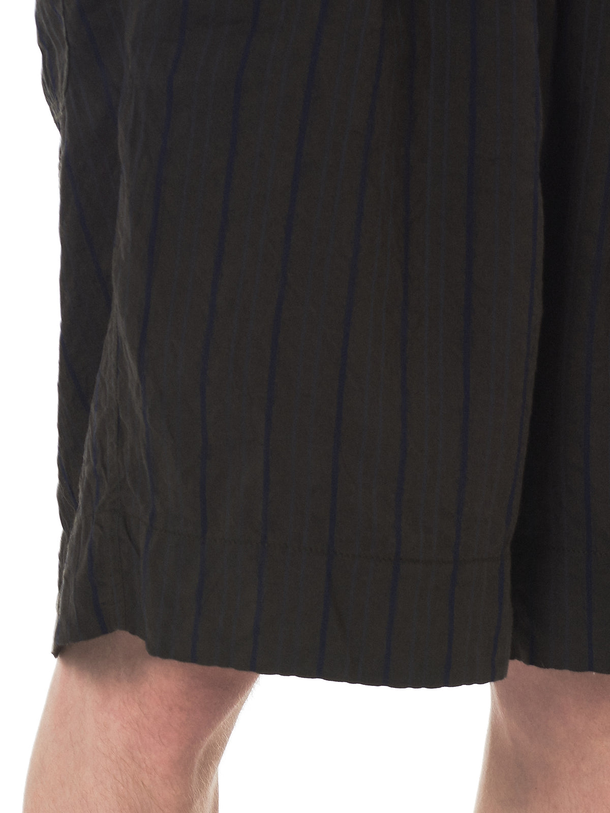 Ziggy Chen Striped Shorts - Hlorenzo Detail 2