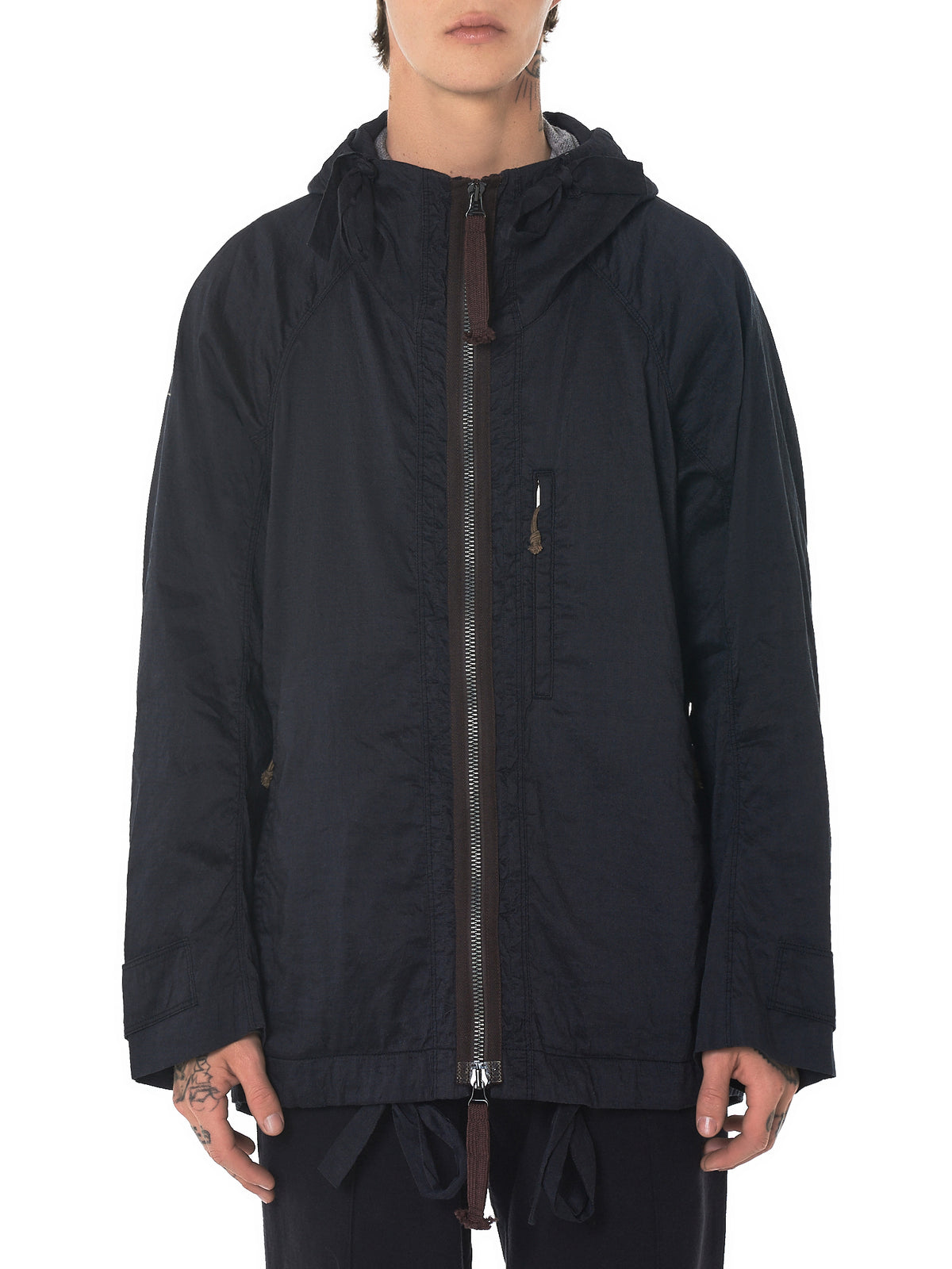 Ziggy Chen Hooded Jacket - Hlorenzo Front