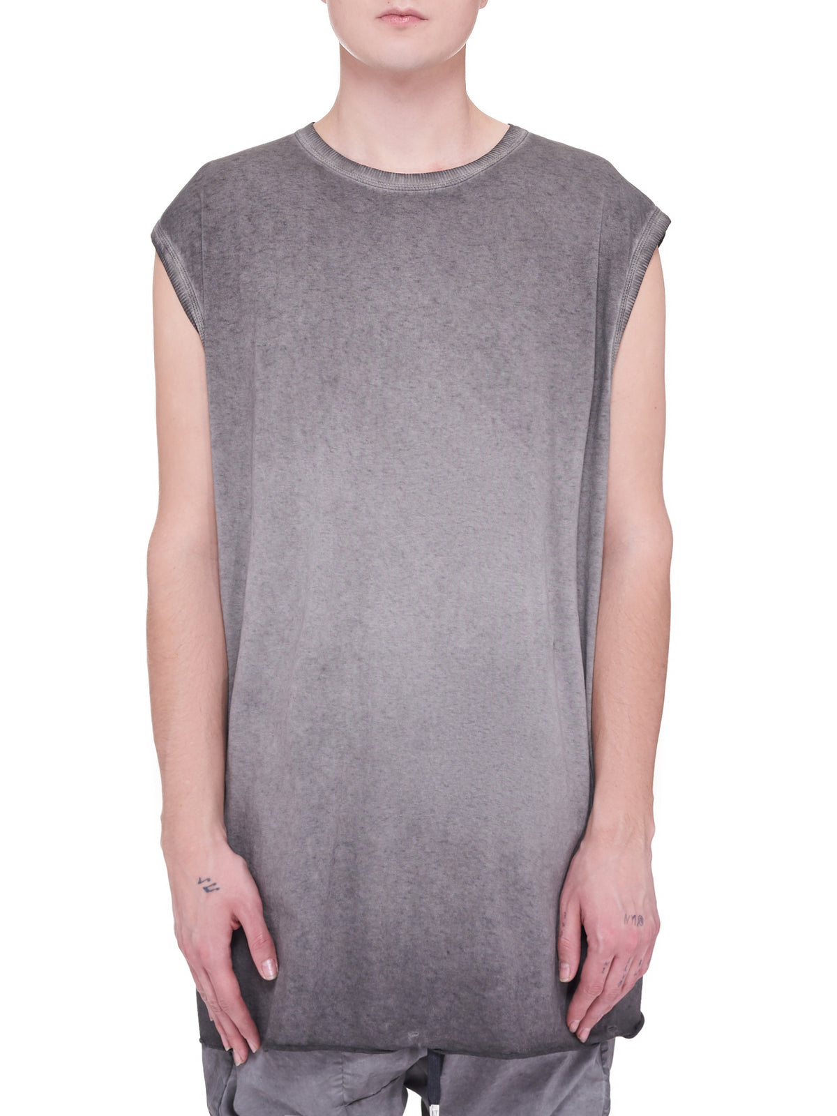 One Piece Tank Top (ONE-PIECE-TANK-F035-DARK-GREY)