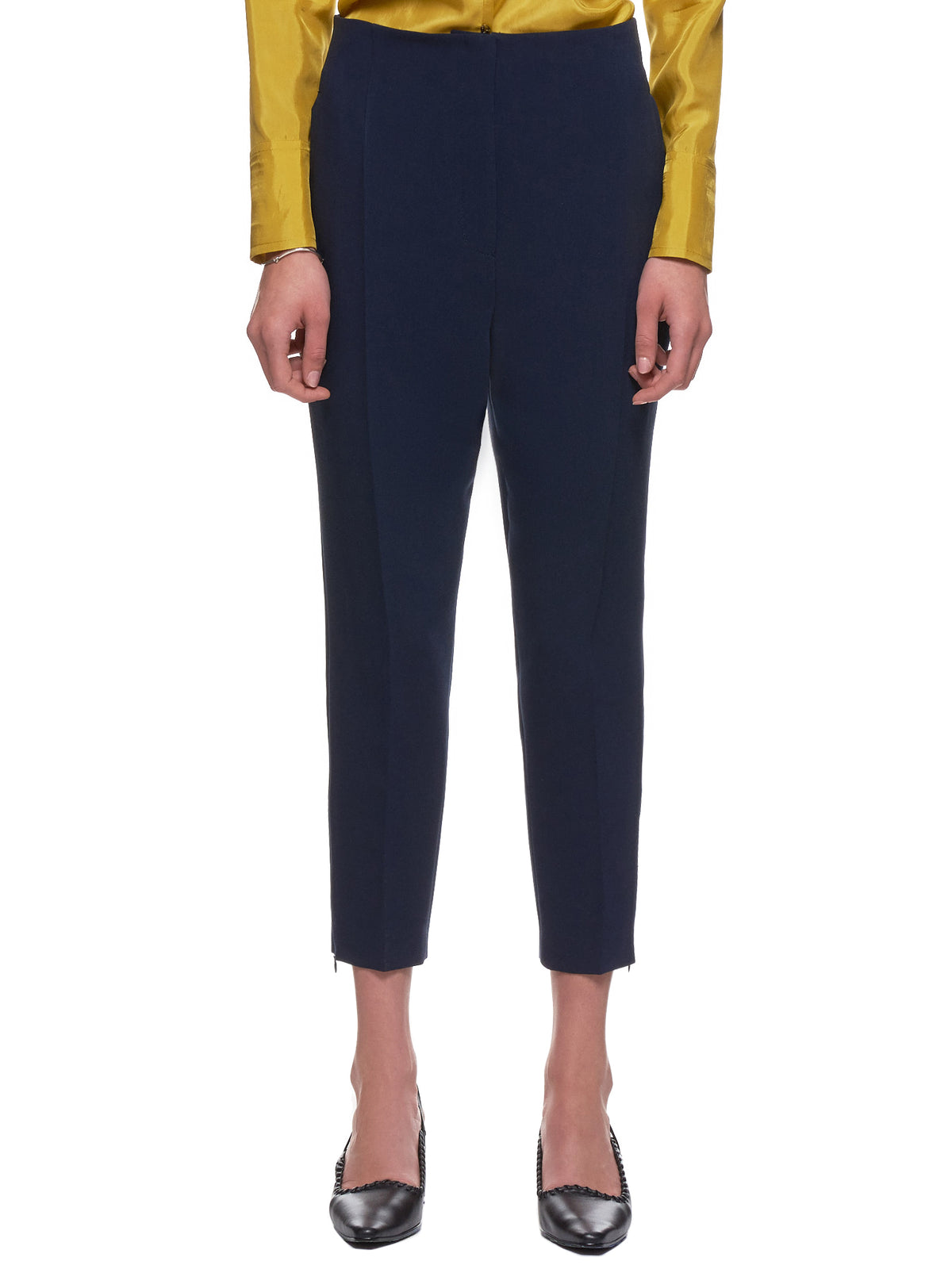 'Tuxedo Cigarette Trousers' (10-CIGARETTE-NAVY)