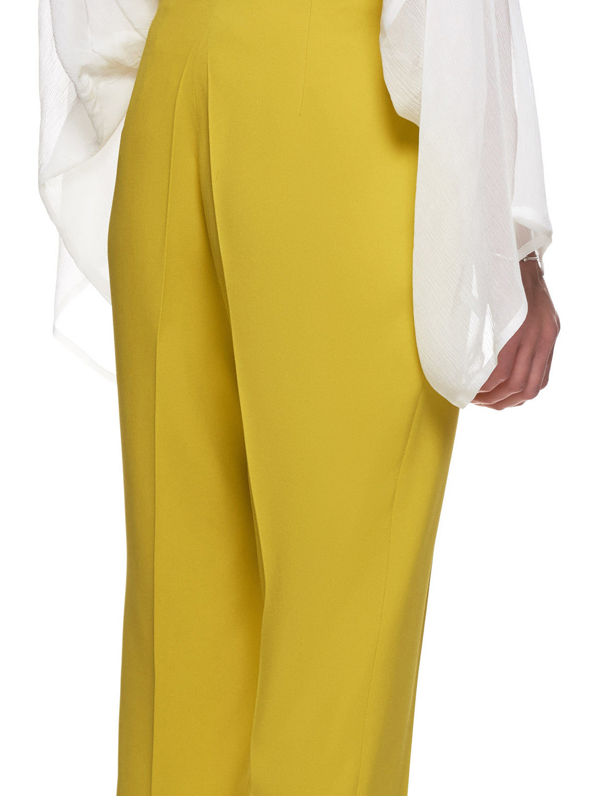 'Tuxedo Cigarette Trousers' (10-CIGARETTE-YELLOW)