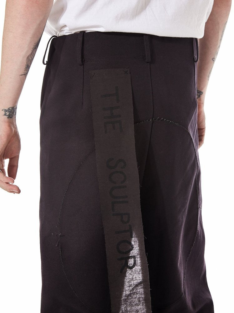 'The Sculptor' Trouser (THE SCULPTOR CCHW TAR) - H. Lorenzo