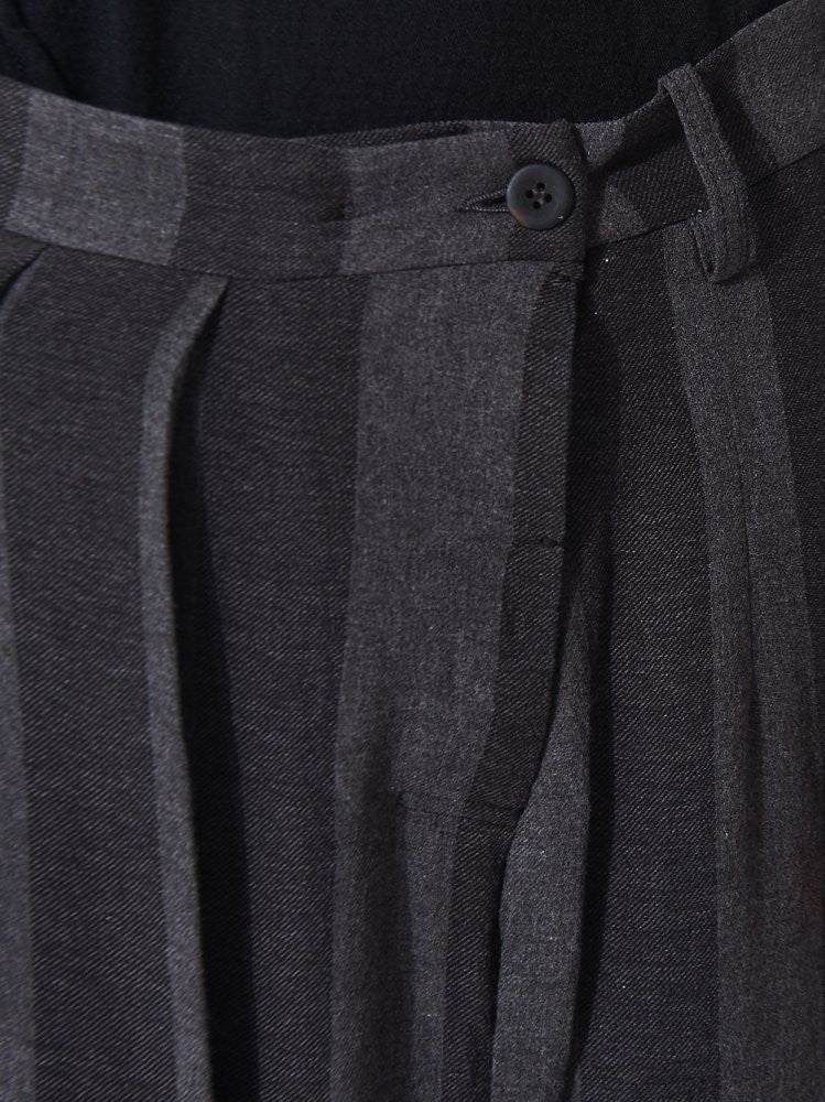 Cropped Saroul Trouser (19.440.643 BLACK/GREY) - H. Lorenzo