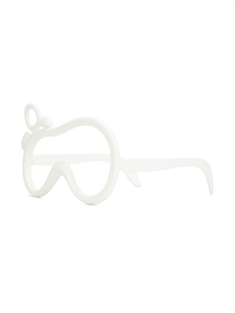 Silicon 3D Printed Glasses (AW16-3D PRINTED GLASS WHITE) - H. Lorenzo