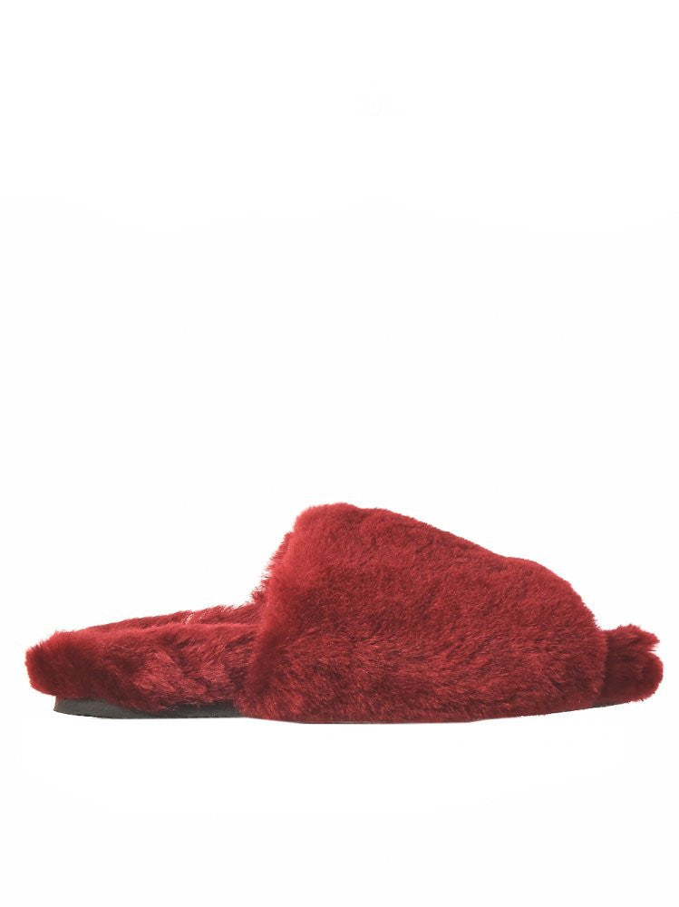 Shearling Sandal (AW16-PET-SHEARLING RED)