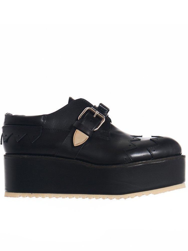 Buckled Wingtip Creeper (KLF-1605 BLACK)