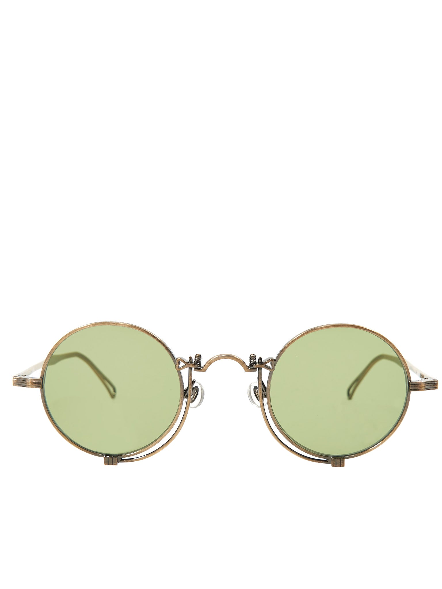 10601H Sunglasses (10601H-ANTIQUE-GOLD-SAGE-GREEN)