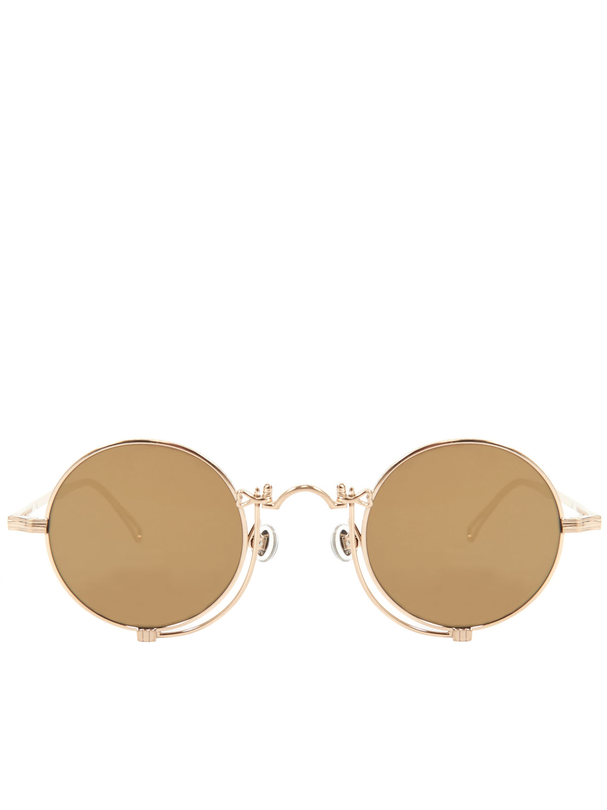 10601H Sunglasses (10601H-BRUSHED-GOLD-MIRROR)