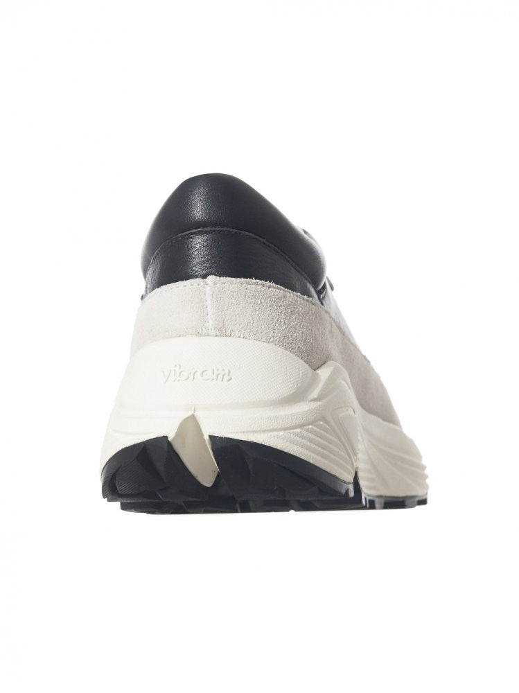 Contrast Tiered Low Sneaker (KS16FWRSF2-201 BLK/GRY/WHT) - H. Lorenzo