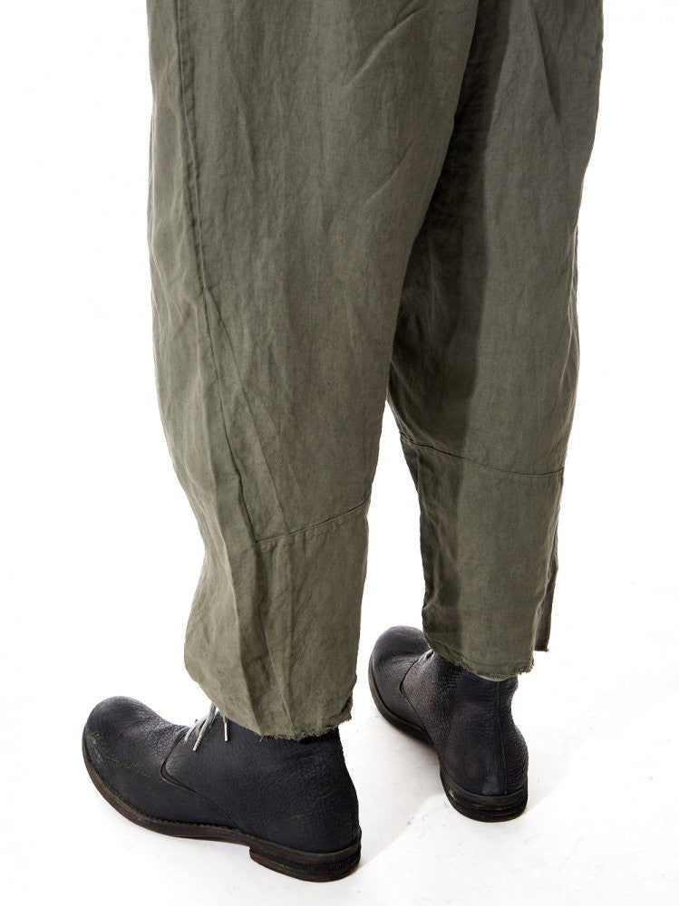 Relaxed Drawstring Trousers (18.339.626R SAGE) - H. Lorenzo